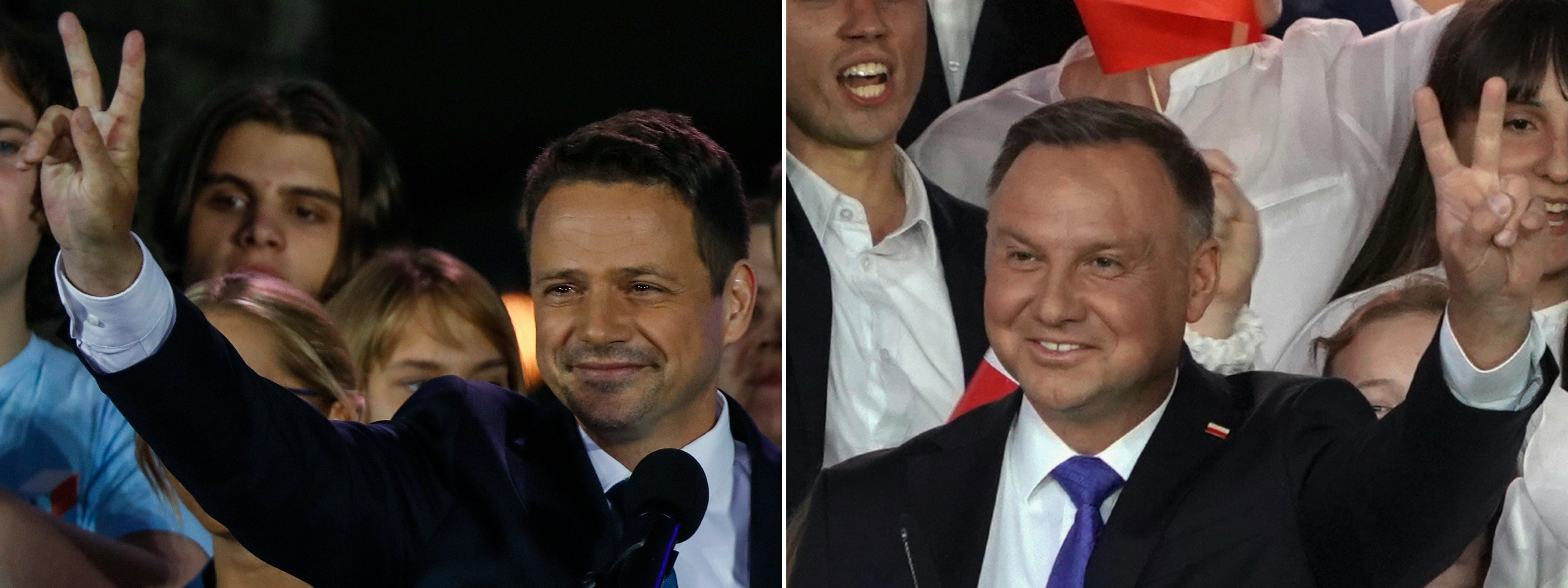 Elképesztően szoros a lengyel elnökválasztás, mindkét jelölt bízik a saját győzelmében