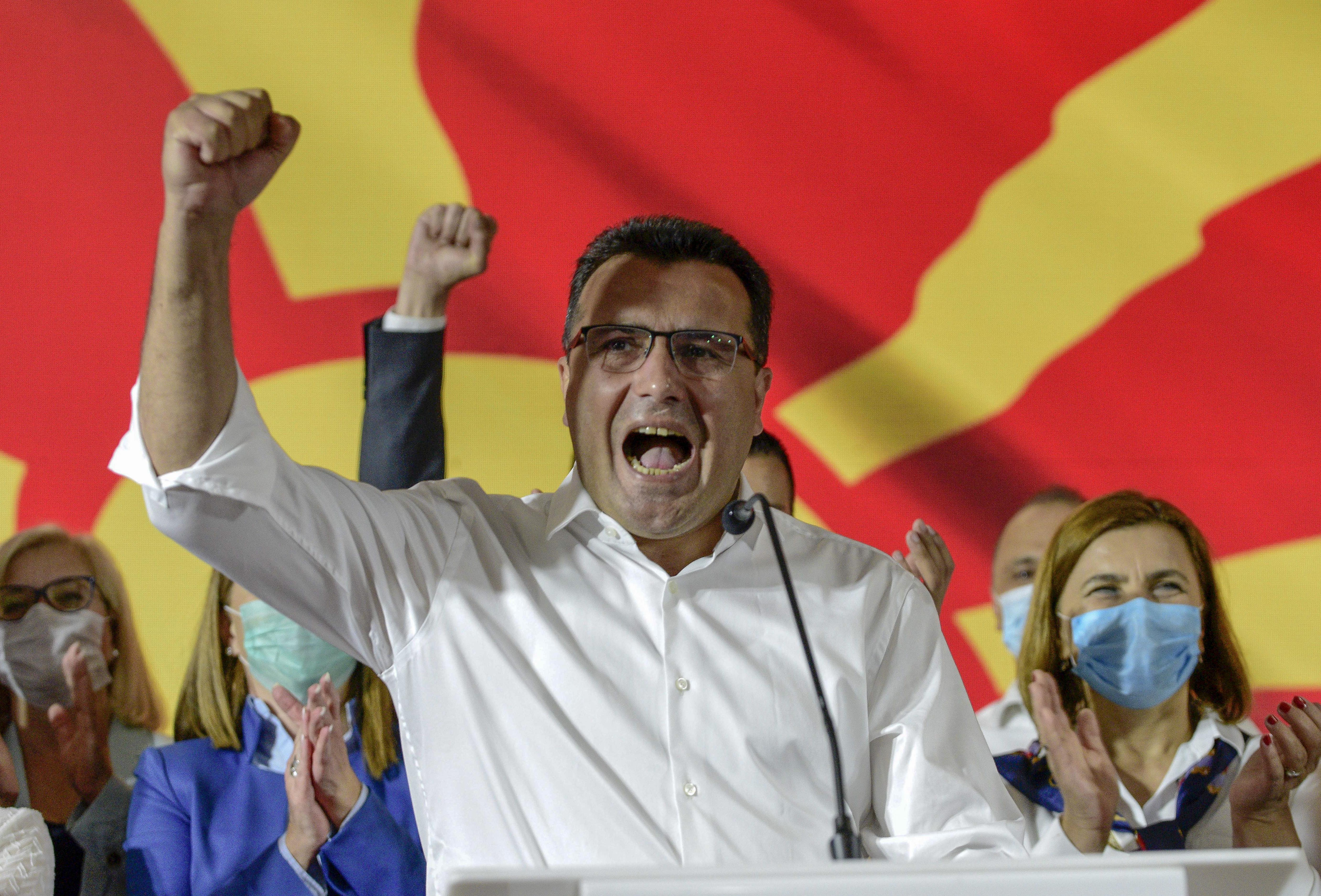 A baloldal nyerte a macedón parlamenti választásokat