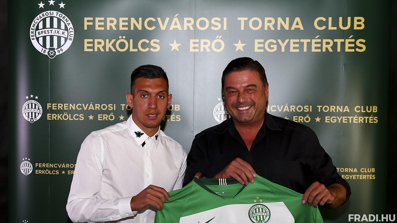 A Fradi 655 millió forintért vett meg egy albán válogatott játékost Lokomotiva Zagrebtől