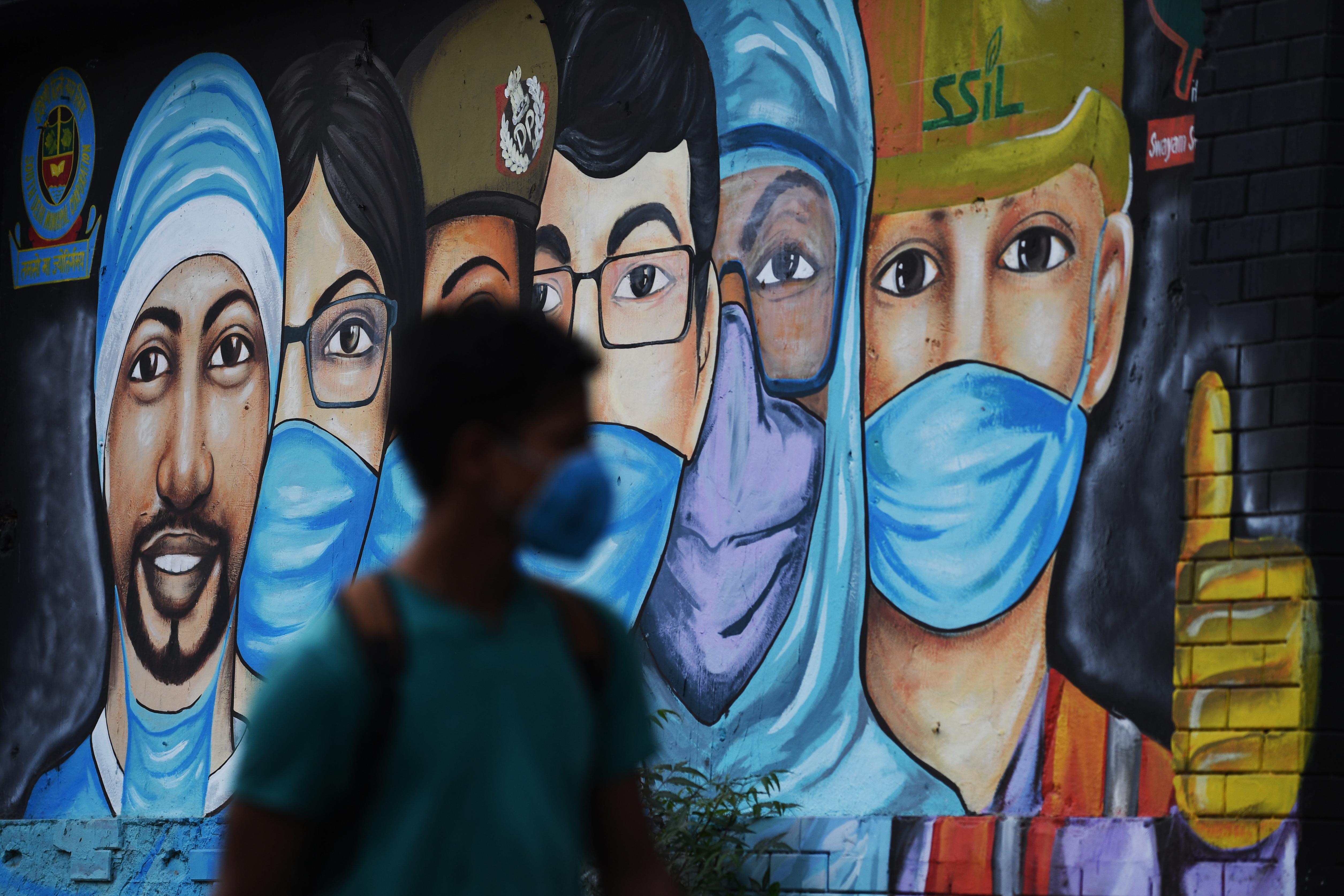 Delhiben az emberek negyede elkapta a koronavírust