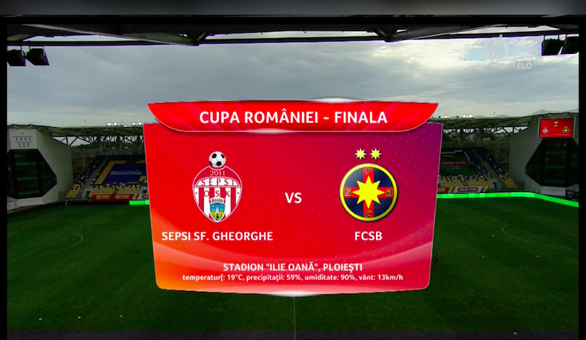 A magyar közszolgálati sportcsatorna közvetítette volna a román kupa döntőjét, de az utolsó pillanatban a románok lekapcsolták a jelet