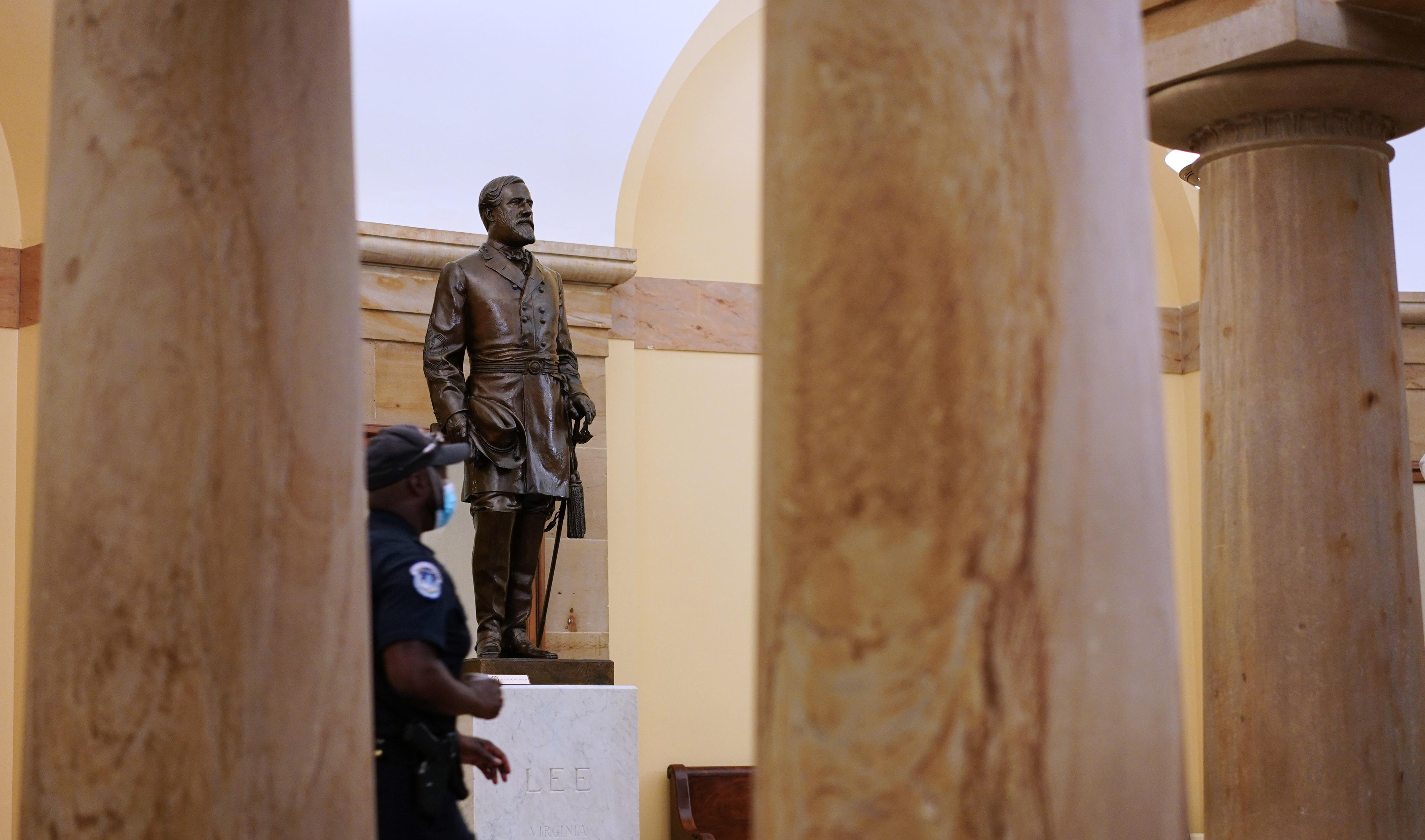 Eltávolítják a konföderációs szobrokat az amerikai kongresszus díszcsarnokából