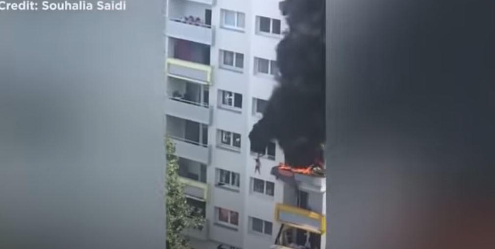 Tíz méterről ugrott ki két francia kisgyerek egy társasházban kiütött tűz miatt