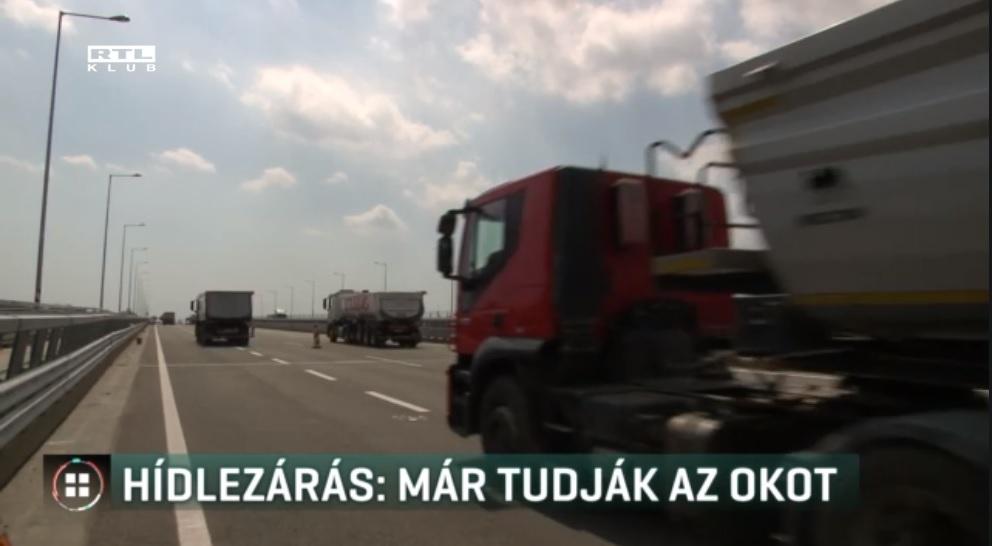 Hiába újították fel a hárosi Duna-hidat, egy hiba miatt megint le kellett zárni