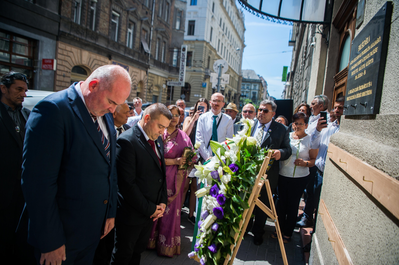 A roma holokauszt áldozataira emlékeztek