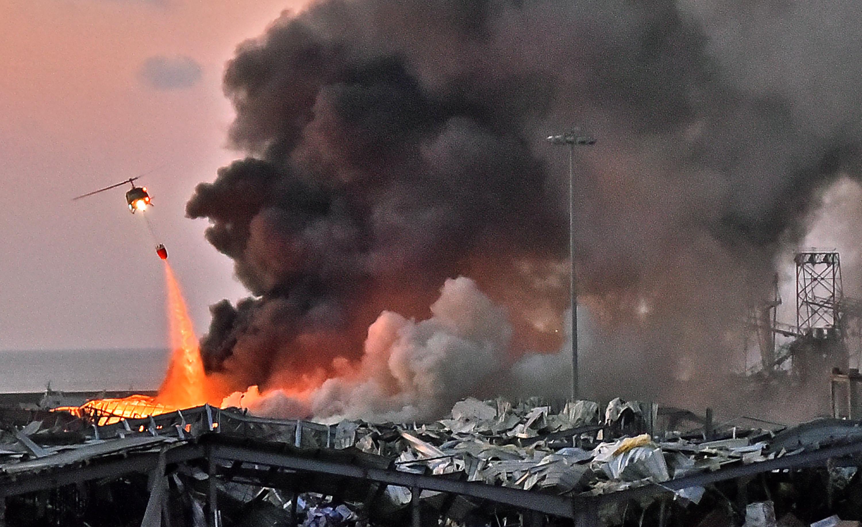 Libanon vezetőit júliusban figyelmeztették, hogy veszélyt jelentenek a robbanóanyagok a kikötőben