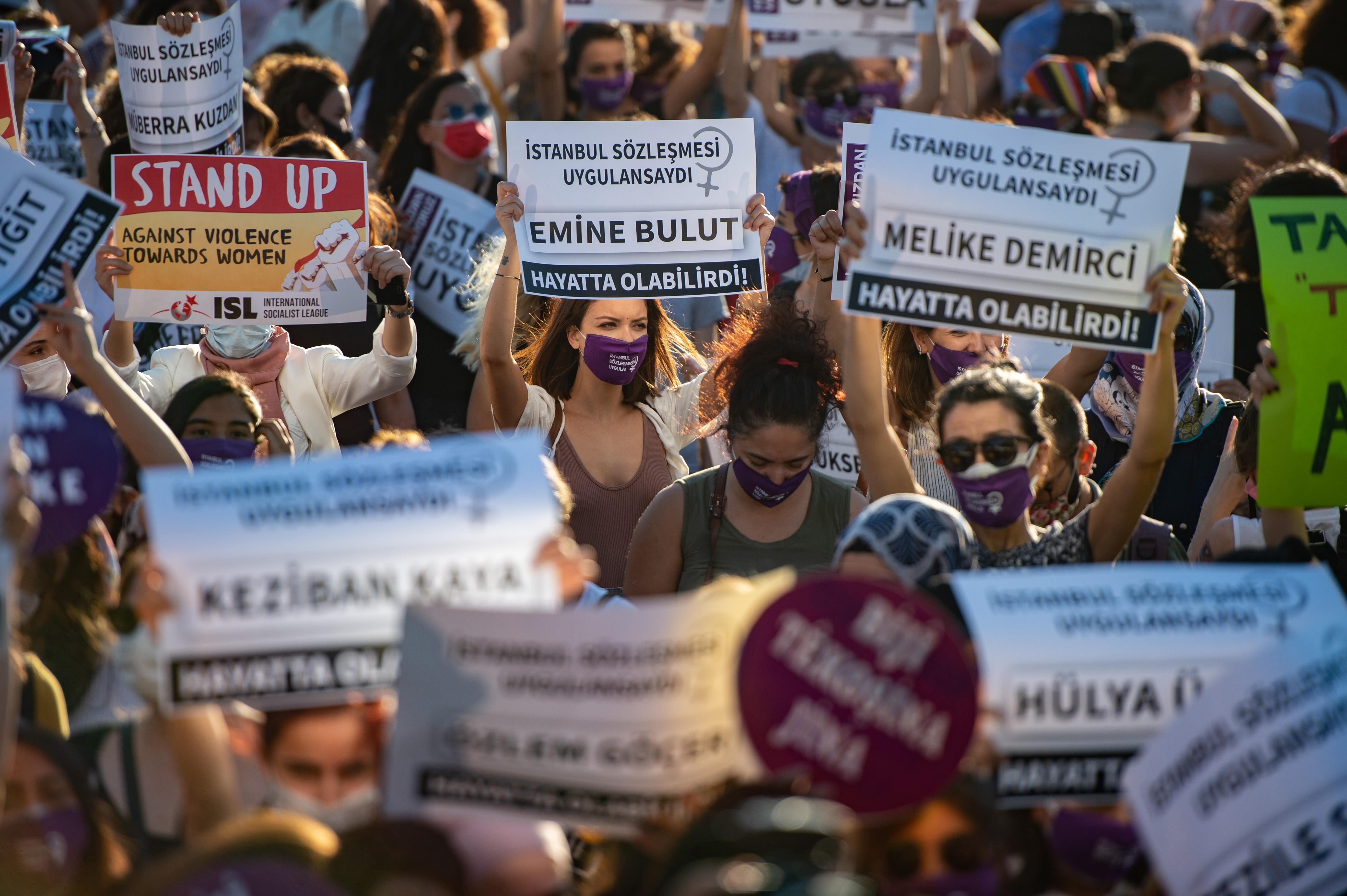 Törökország kilép az Isztambuli egyezményből