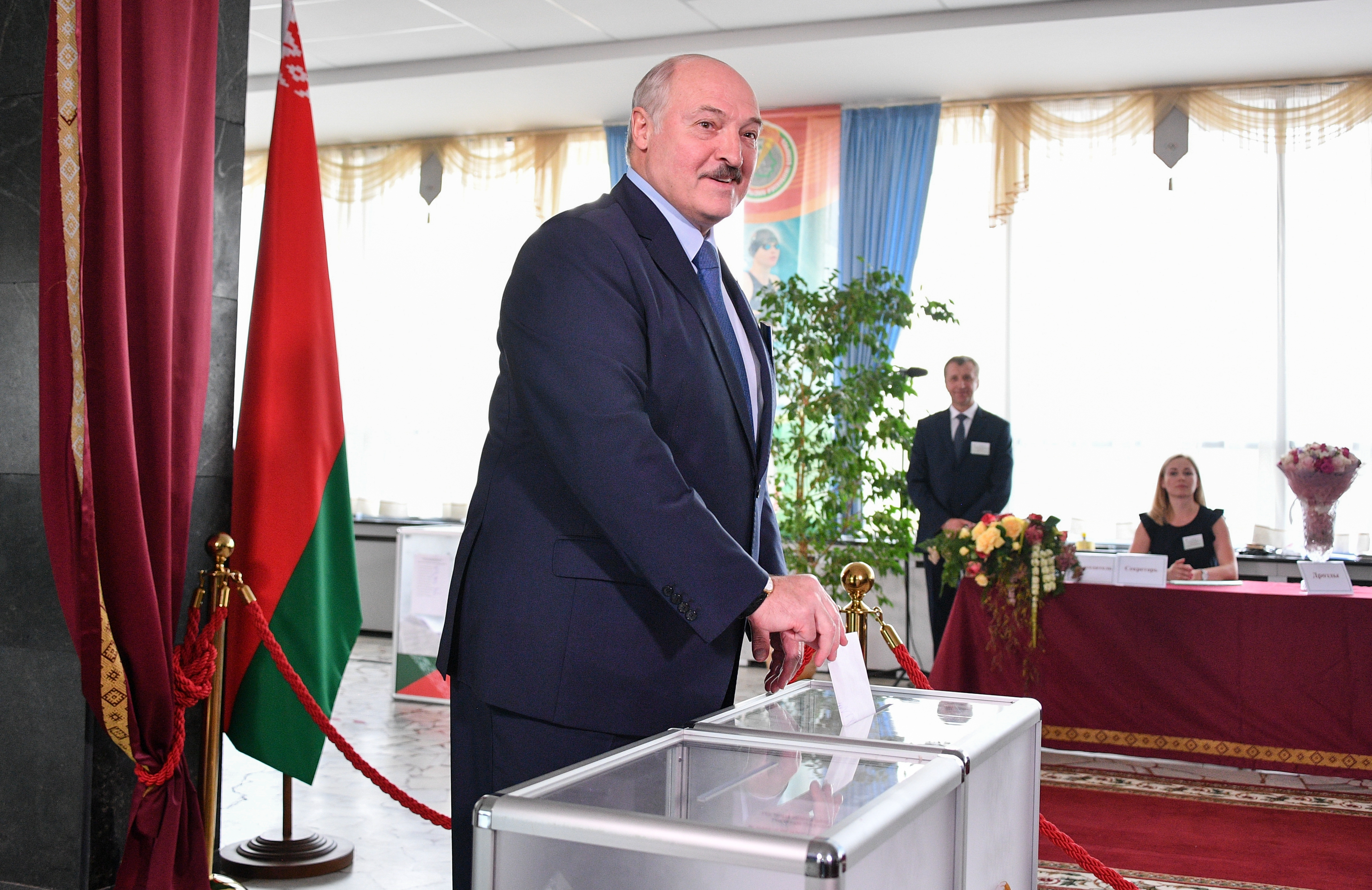 Németország szerint számos jele van annak, hogy elcsalták a fehérorosz választást
