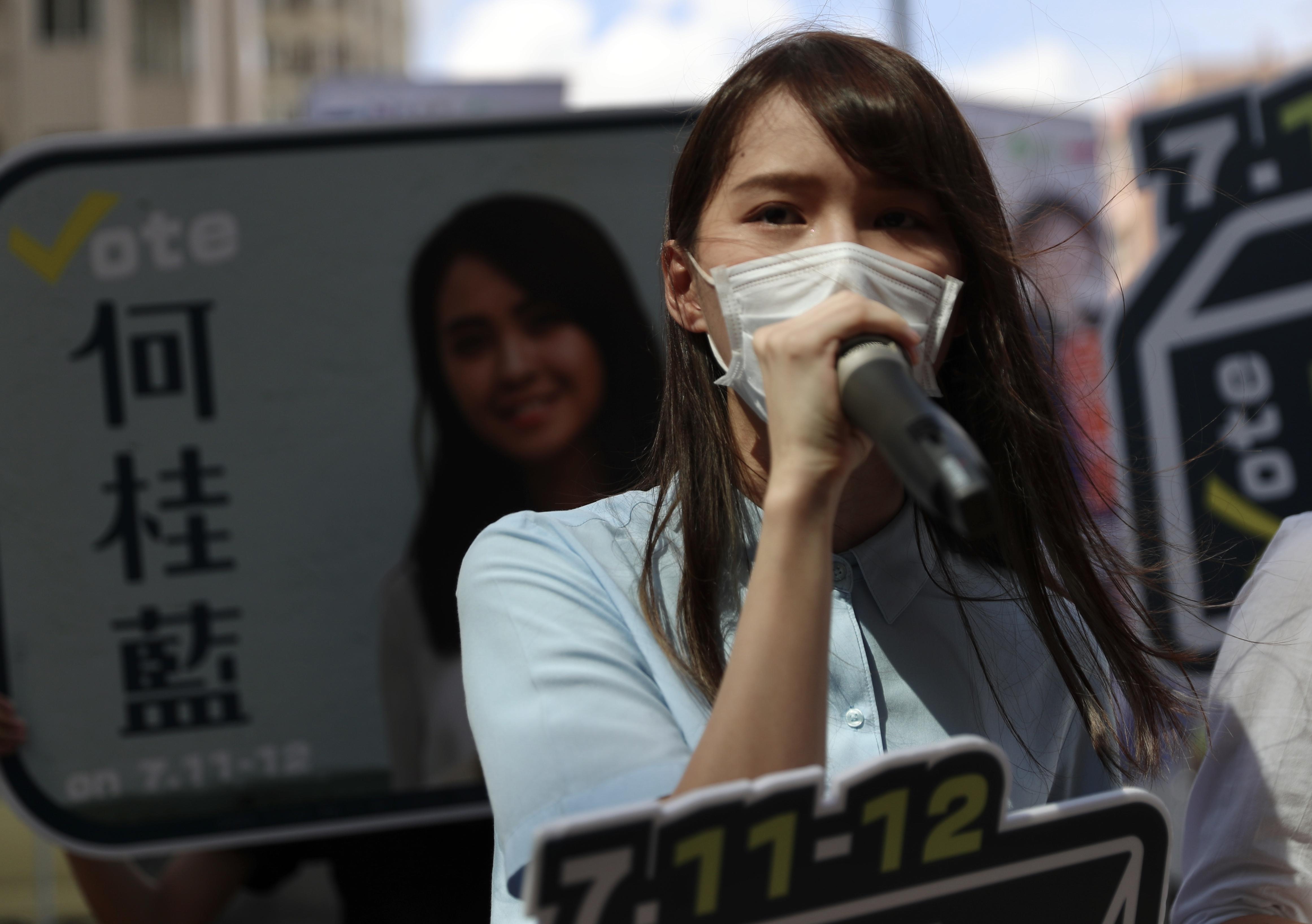 Letartóztatták Agnes Chow hongkongi demokráciapárti aktivistát