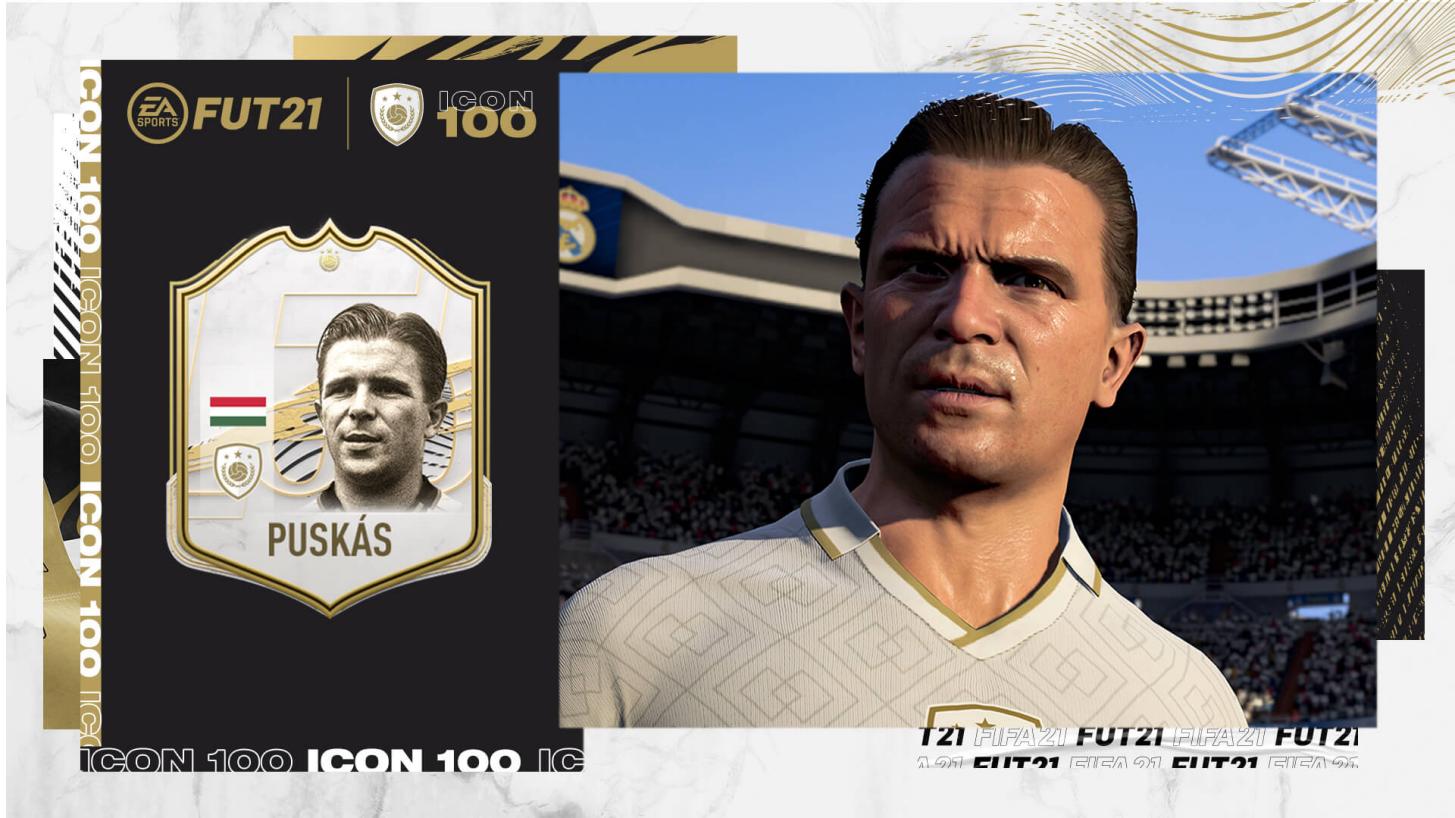 A FIFA 21-ben Puskás Ferencet is lehet irányítani