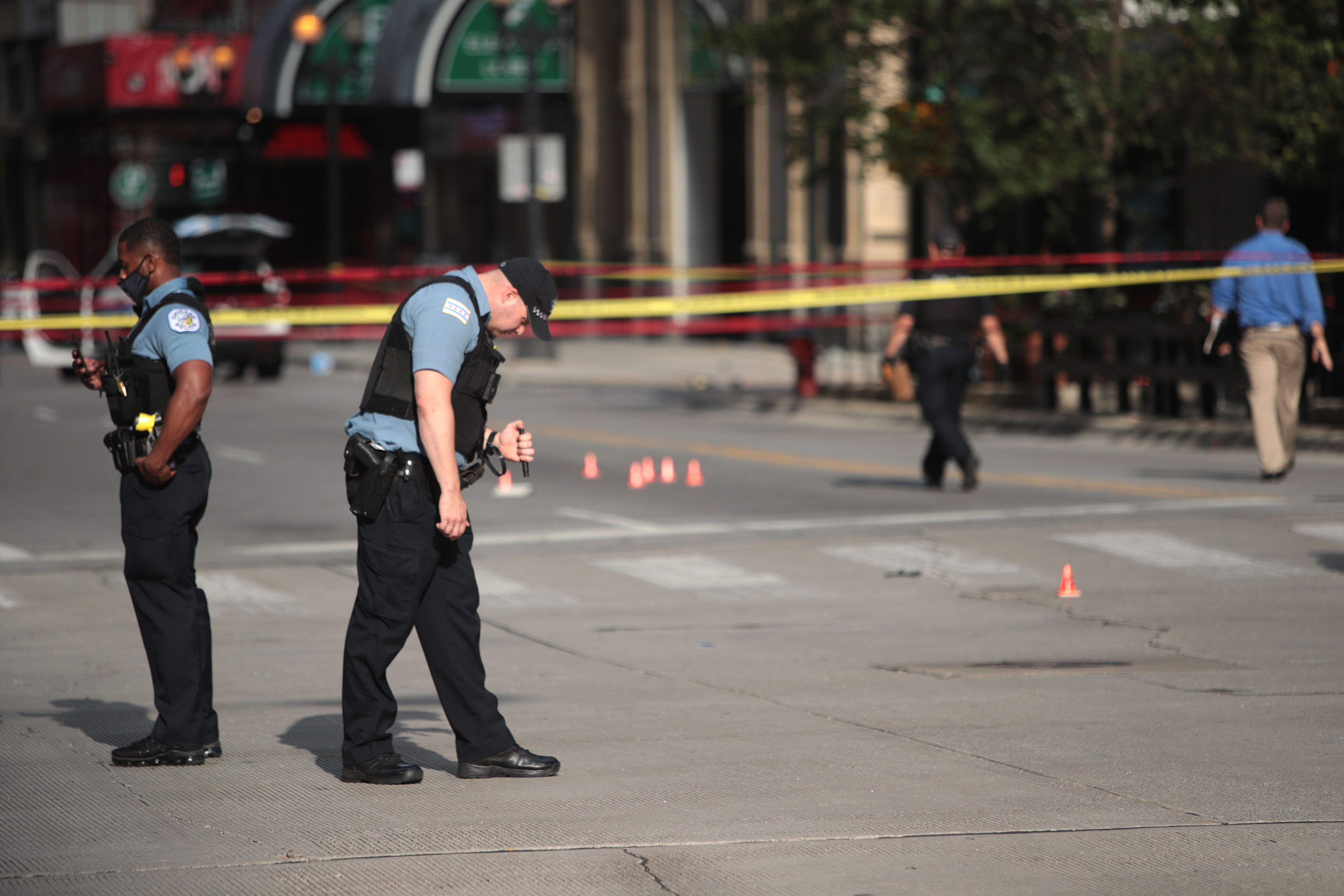 Zavargások, fosztogatások Chicagóban