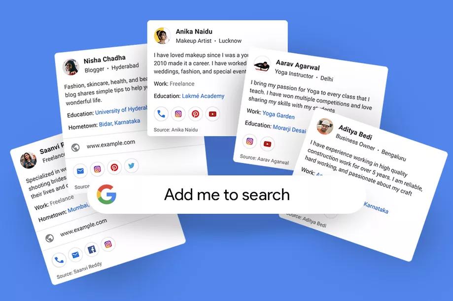 A Google újításával az emberek hozzáadhatják a saját profiljukat a keresési eredményekhez