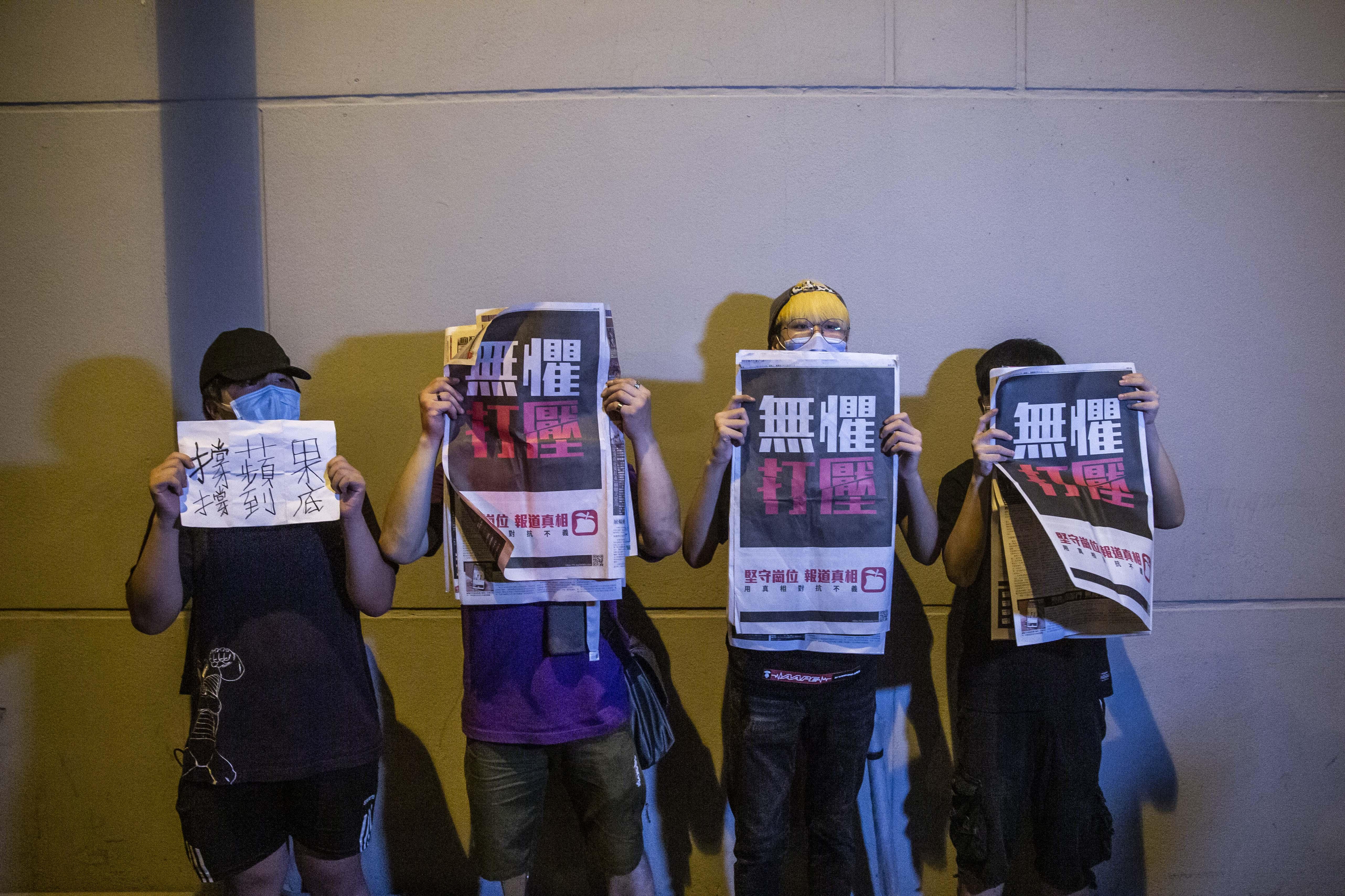 Ócska bulvárlapnak indult, mára a pekingi vezetés ellensége lett a demokráciapárti Apple Daily