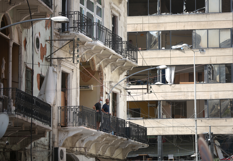 A bejrúti robbanásban 601 történelmi épület rongálódott meg