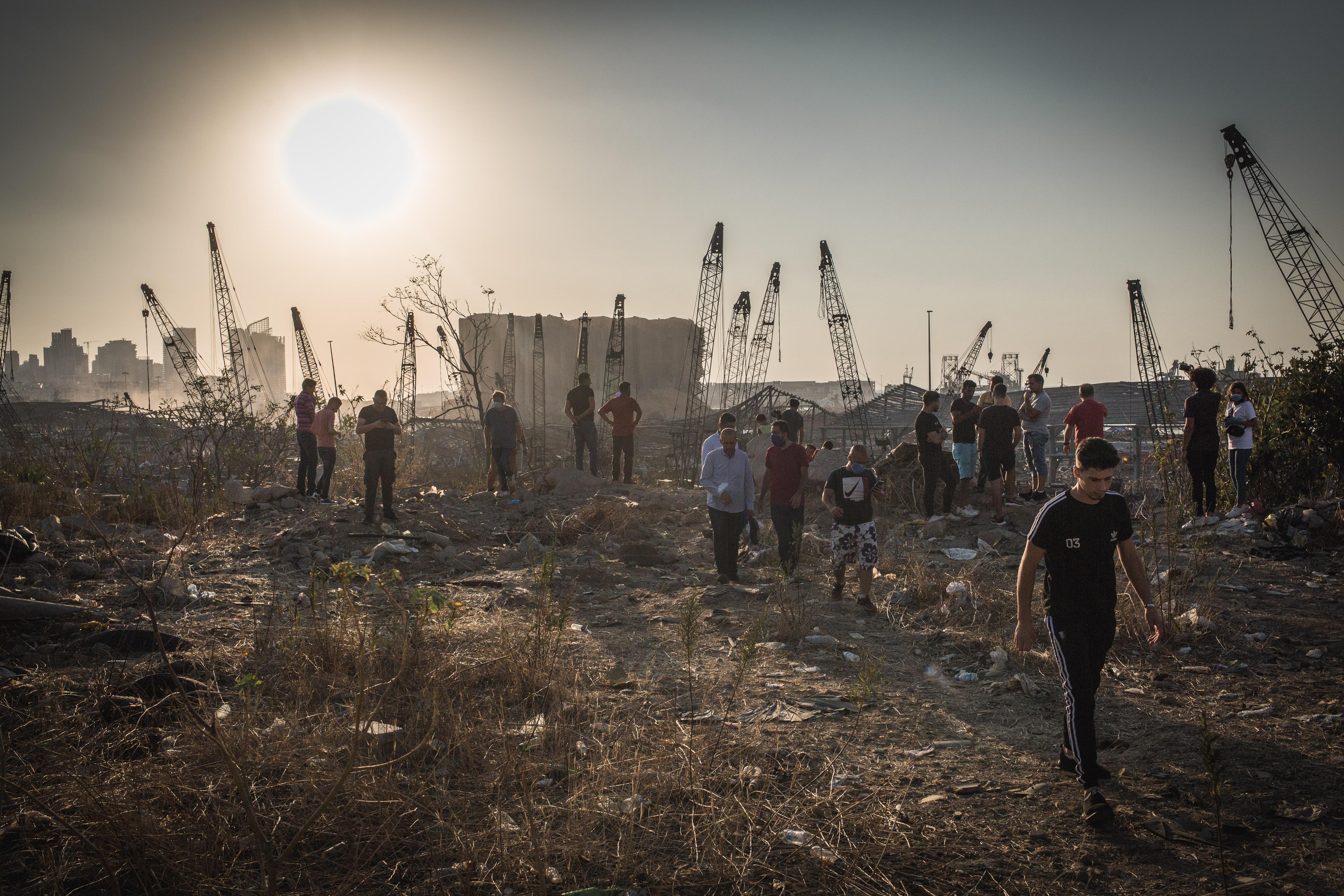 Egyre emelkedik a bejrúti robbanás halálos áldozatainak száma, sok eltűntet még keresnek