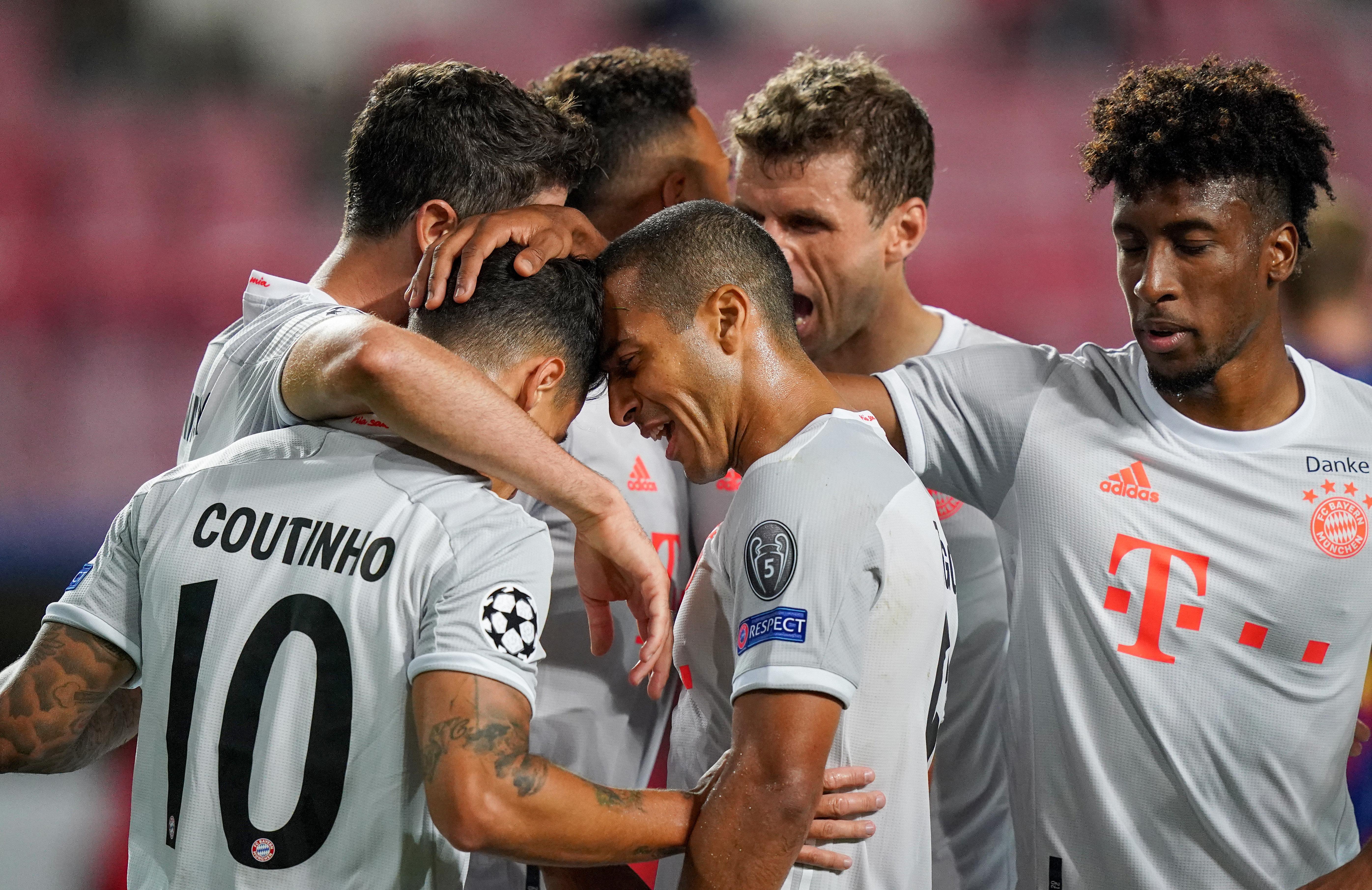 Kiütötte a Bayern a Barcelonát
