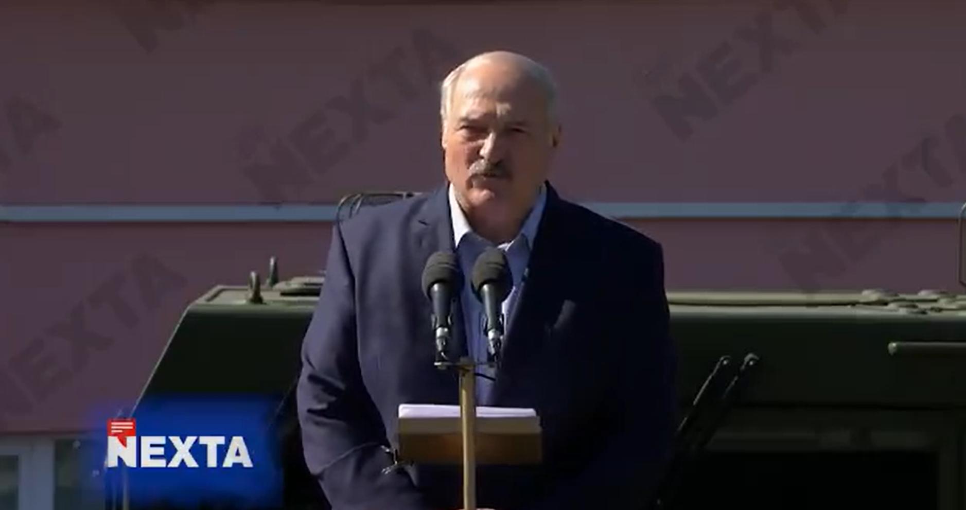 Ceaușescu közvetlenül a bukása előtt mondott olyan beszédet, mint Lukasenka ma délelőtt