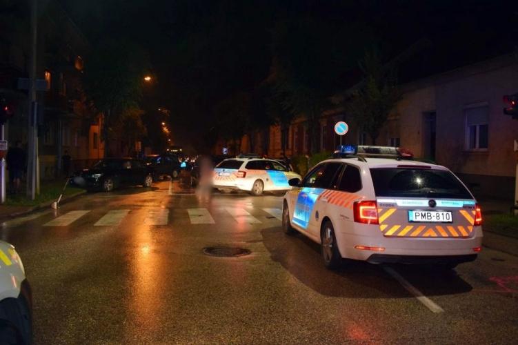 Elütött egy rendőrt Sopron belvárosában az ittasan ámokfutó osztrák autós, a lövés sem állította meg menekülés közben