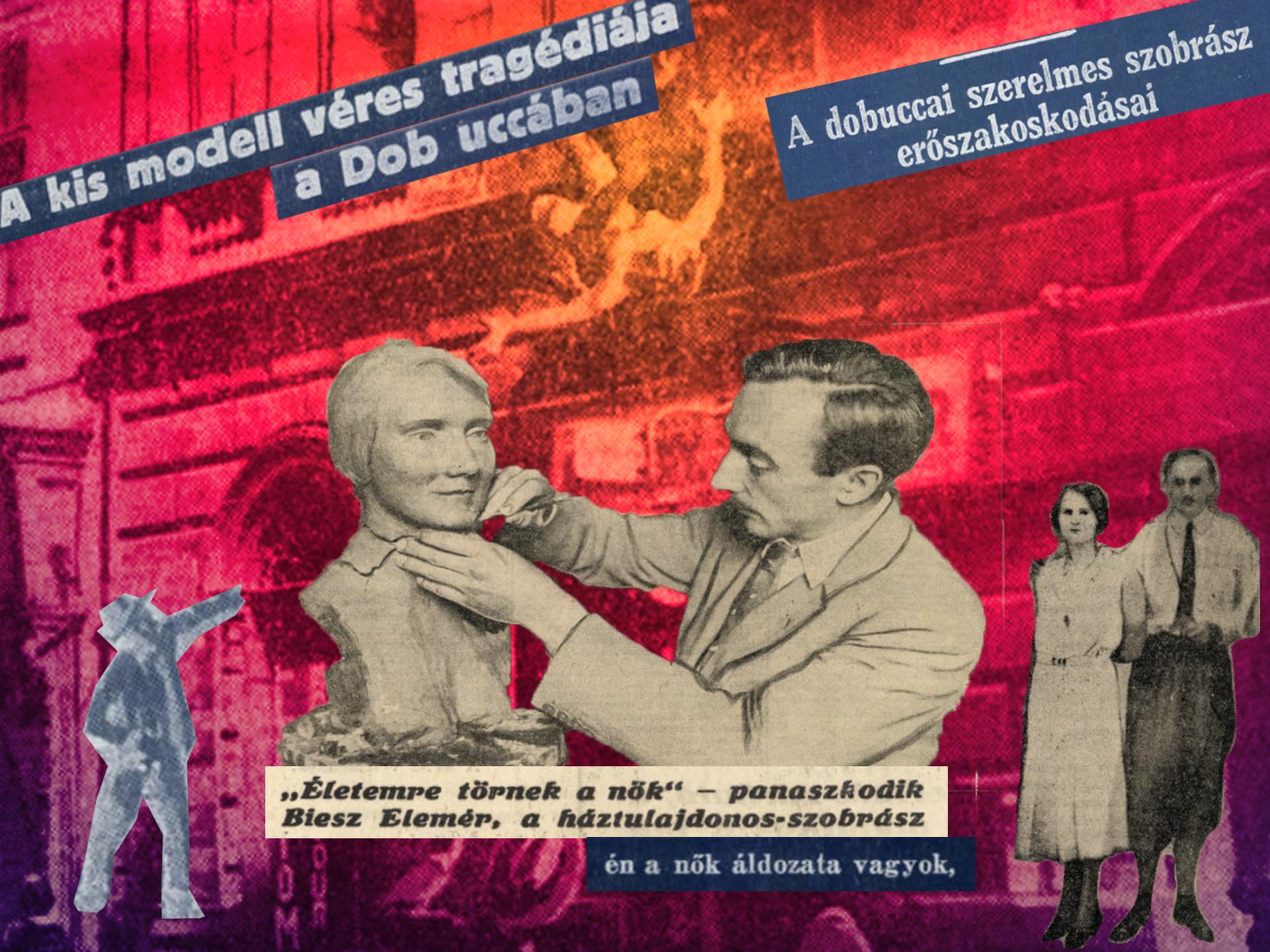 Biesz Elemér verte a nőket, Végvári Boriskát meg kidobta az ablakon, de nem kellett börtönbe mennie