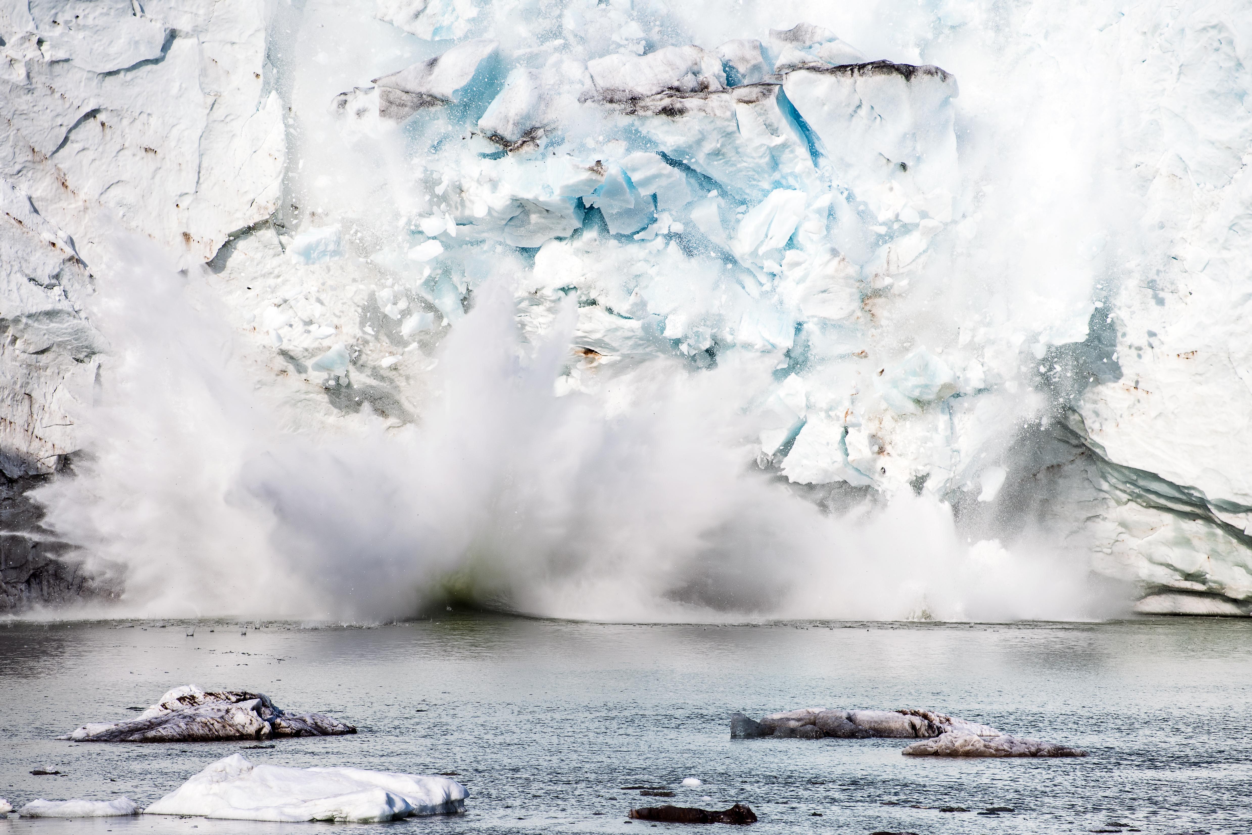 Rekordtempóban olvadt a jég tavaly Grönlandon