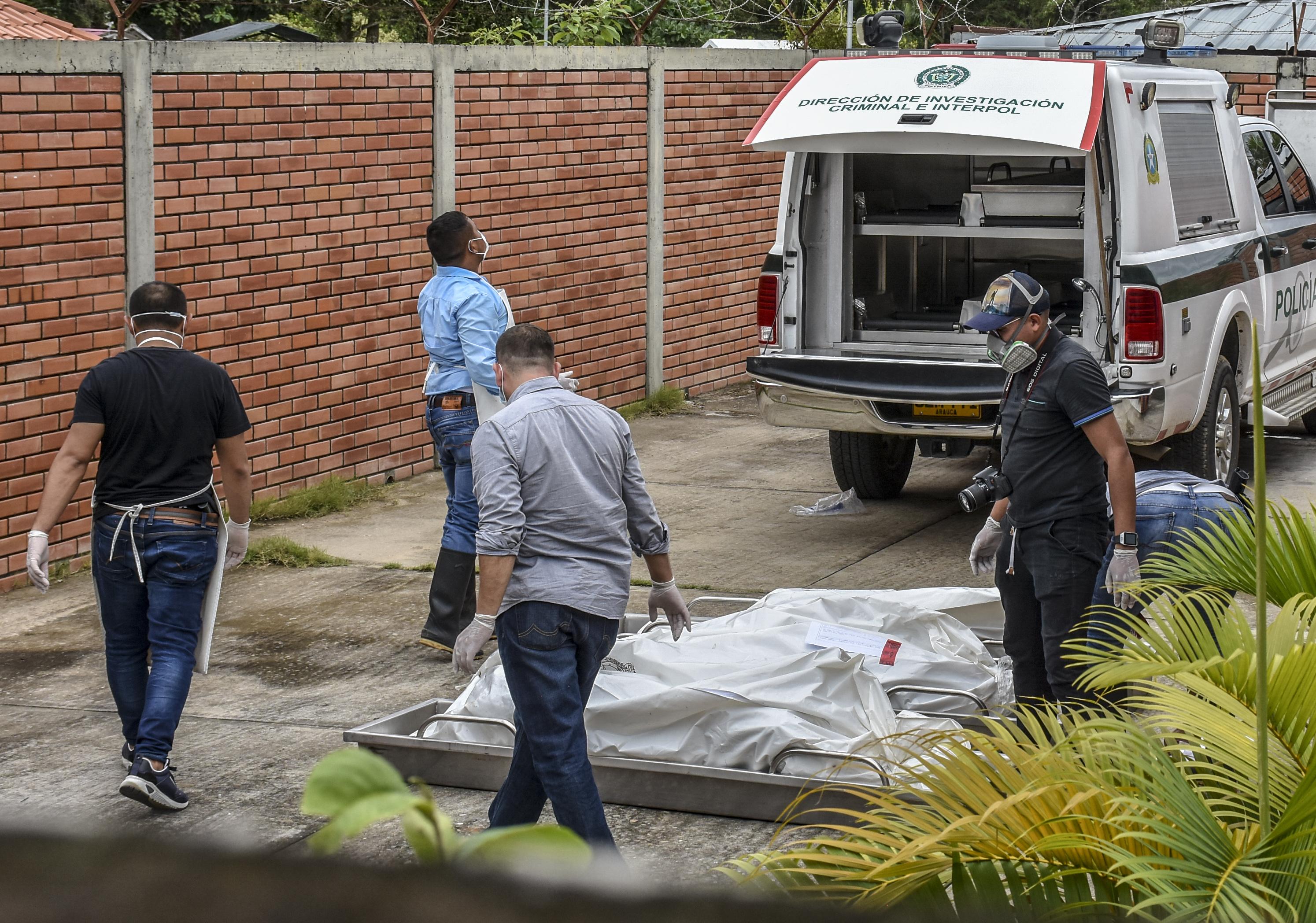 Pár nap alatt 33 embert öltek meg a drogkartellek Kolumbiában