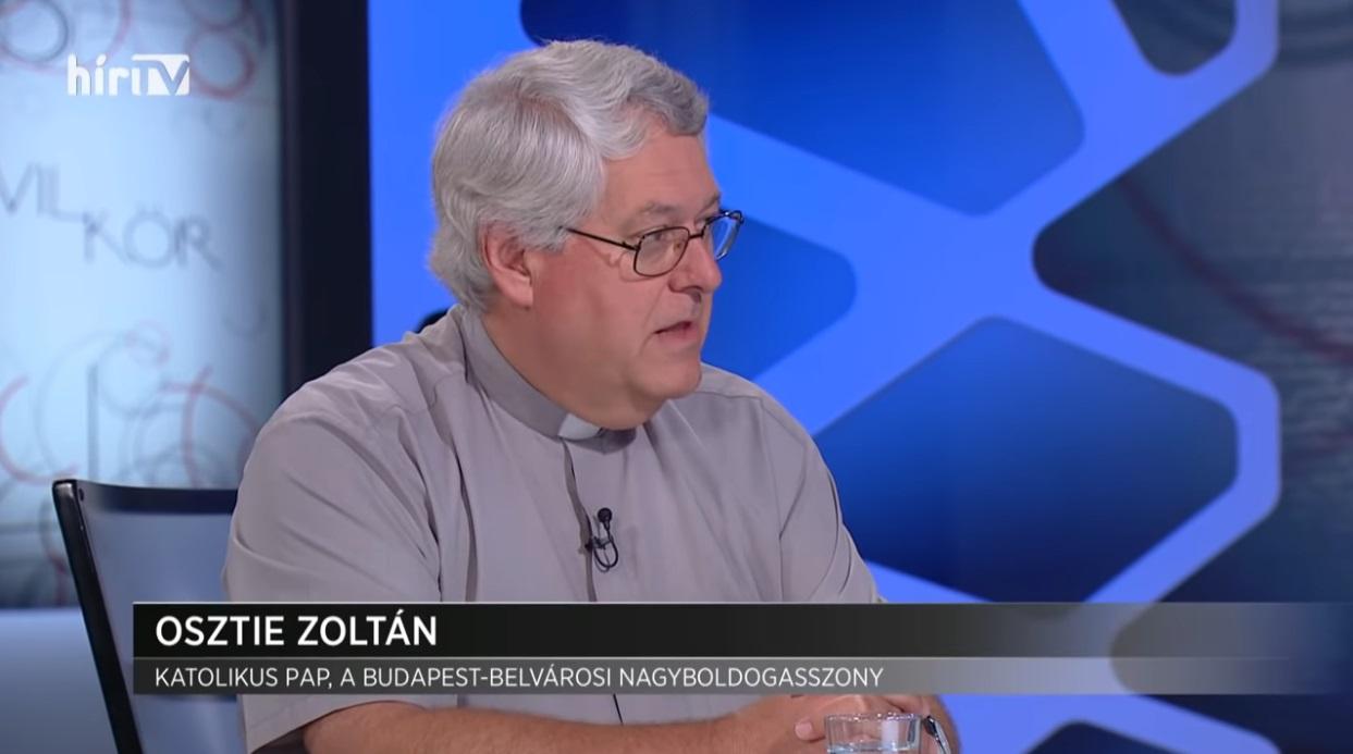 Katolikus pap buzizott a Hír TV-ben