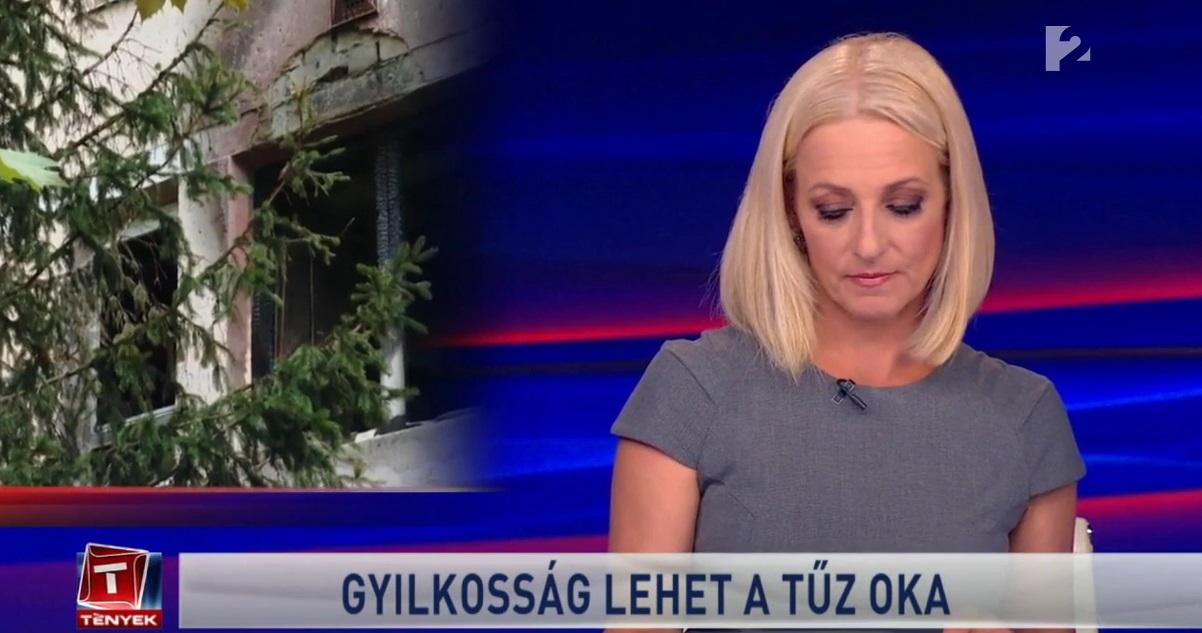 Húsz percig Szebeninek kellett mondani a híreket, miután Marsi Anikó hangja akadozni kezdett