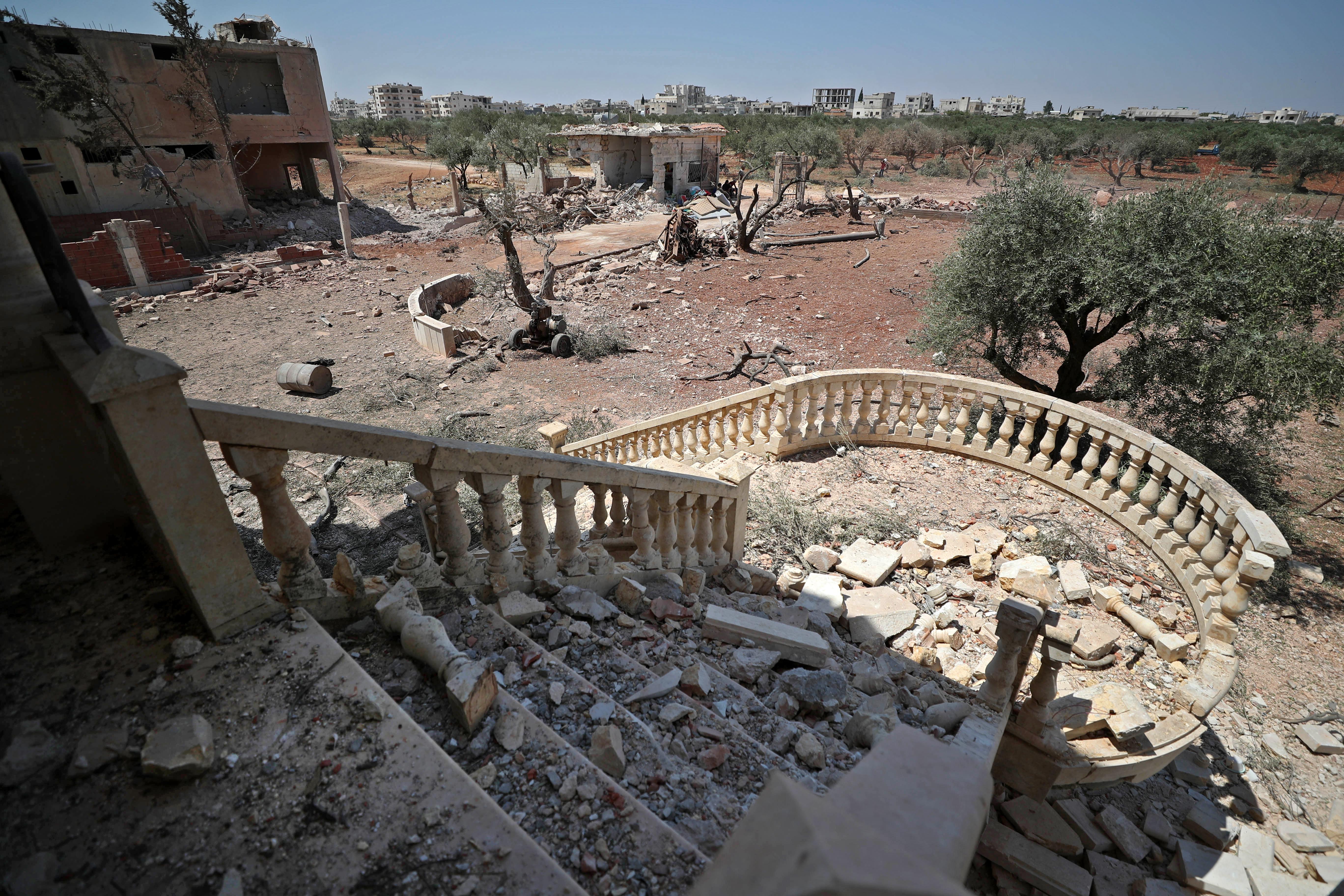 Egész Szíriában elment az áram egy robbanás miatt