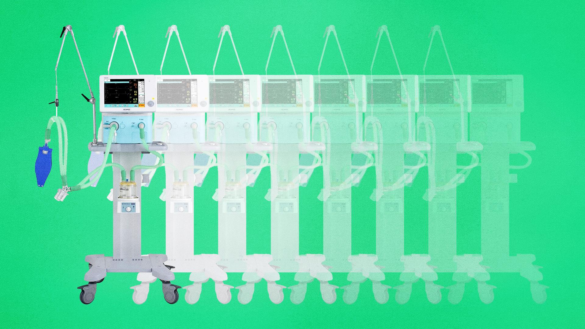 Kezd kirajzolódni, hogyan rendelte jelentősen túl magát lélegeztetőgépekből Magyarország