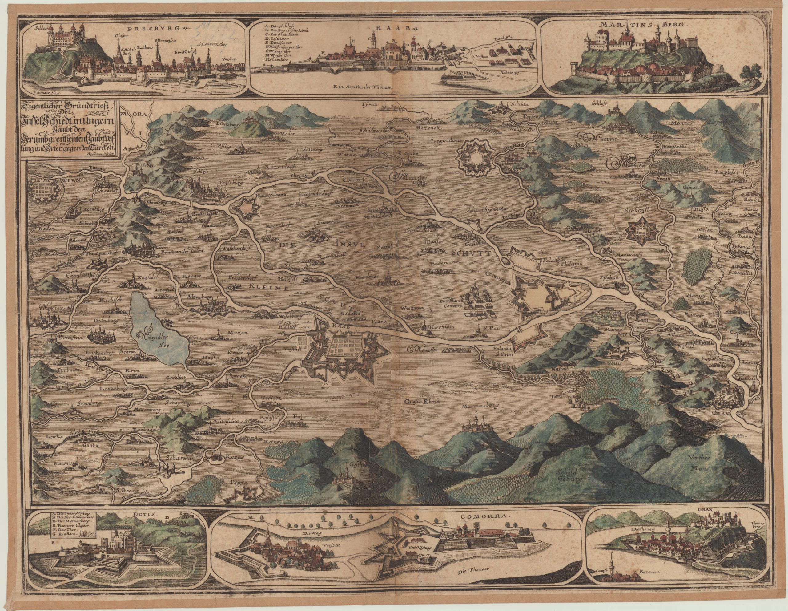 Csaknem ezer, 17-18. századi térképet tett szabadon hozzáférhetővé az OSZK