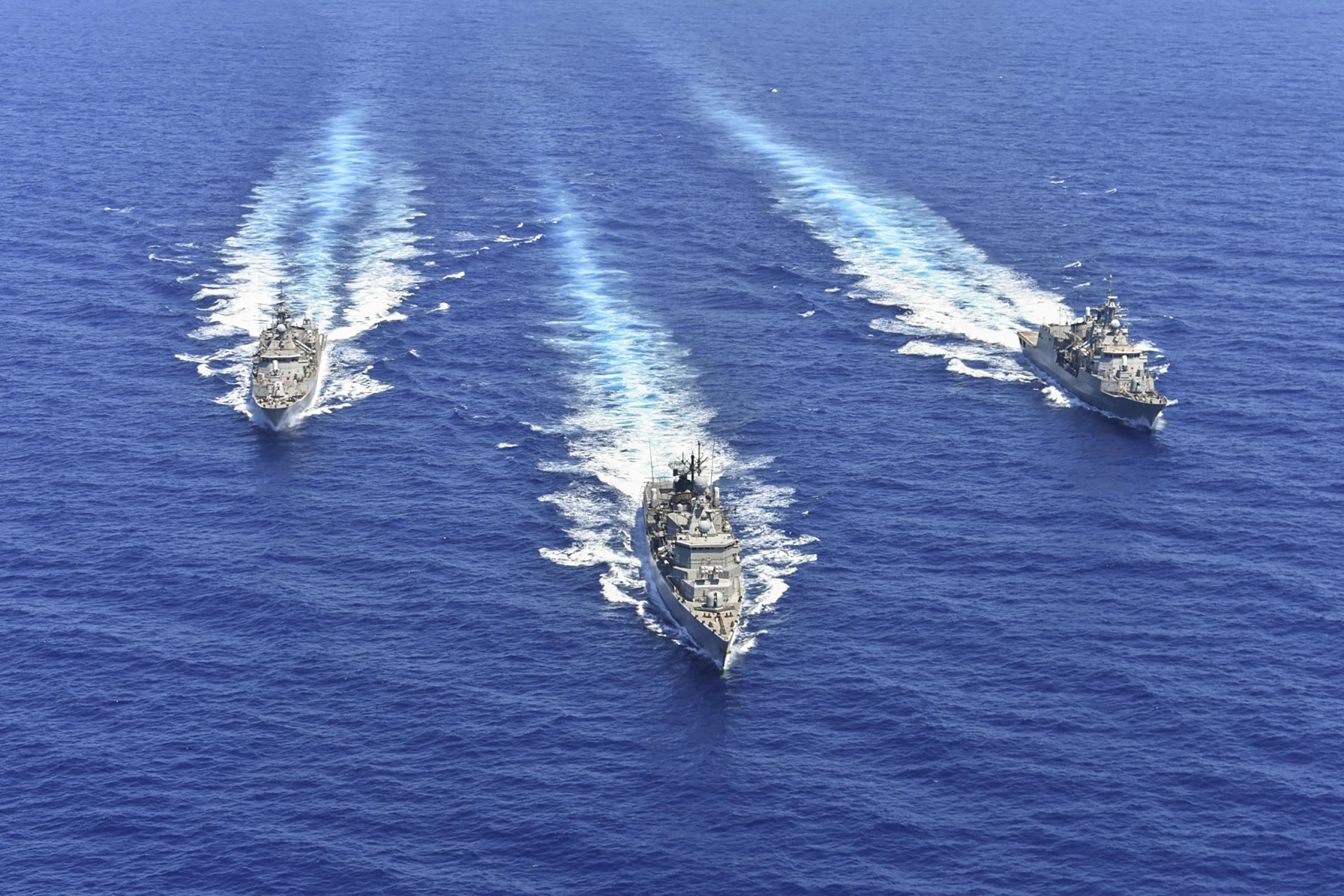 Görögország, Ciprus, Franciaország és Olaszország közös hadgyakorlatot tart a Földközi-tengeren