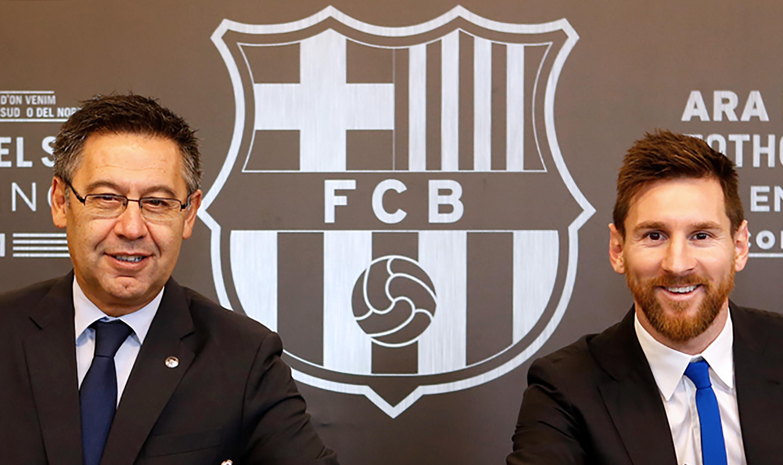 A Barcelona elnöke hajlandó lemondani, ha Messi marad