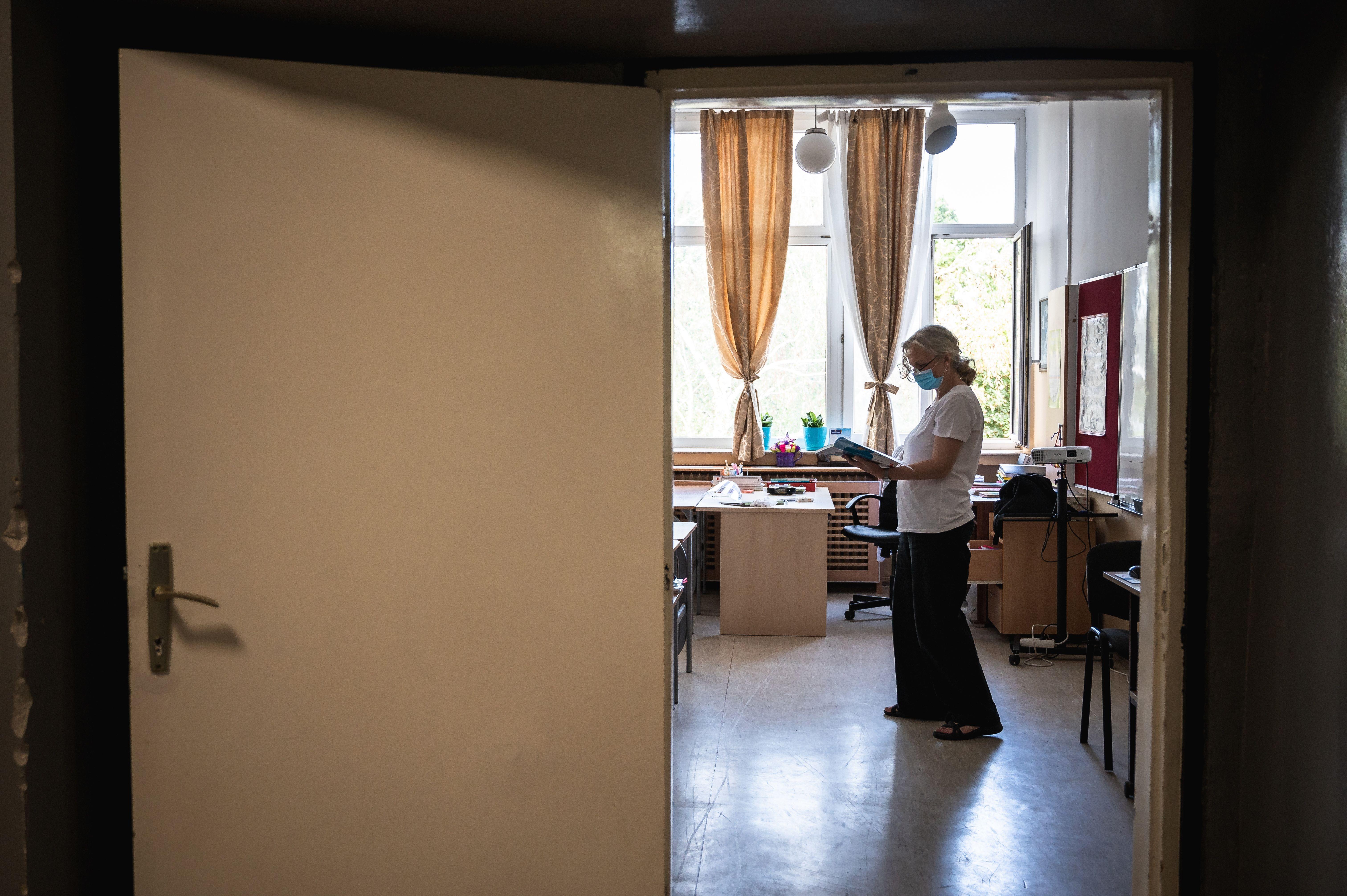 Koronavírusos a Budavári Általános Iskola egyik tanára
