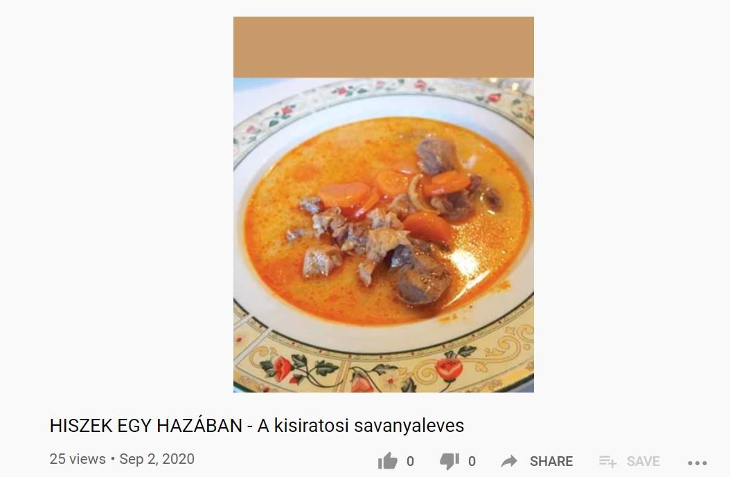 Hungarikumok Gyűjteménye: a vajaljától a kisiratosi savanyalevesig