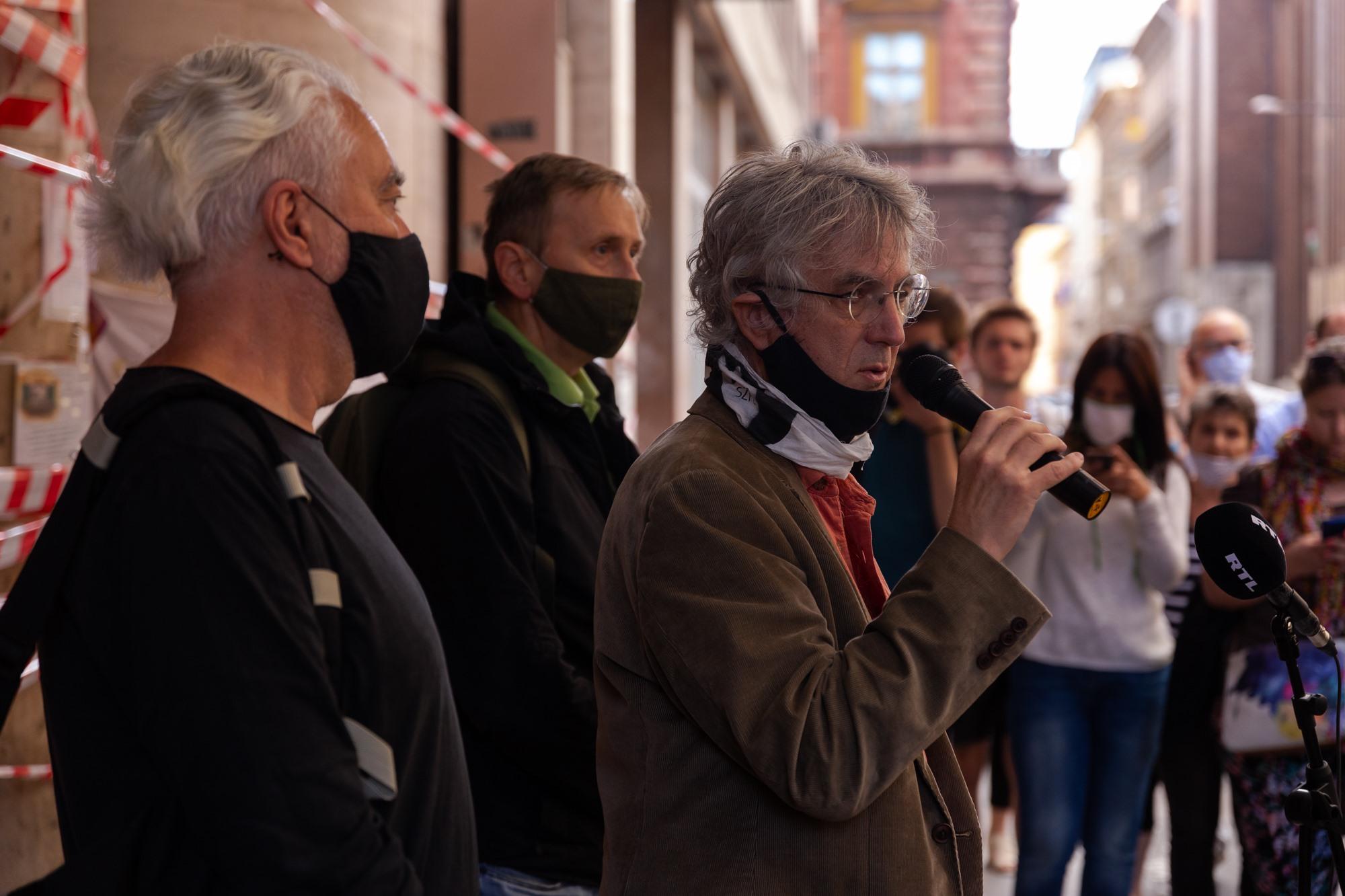 Sztrájkba lépnek a Színház- és Filmművészeti Egyetem dolgozói