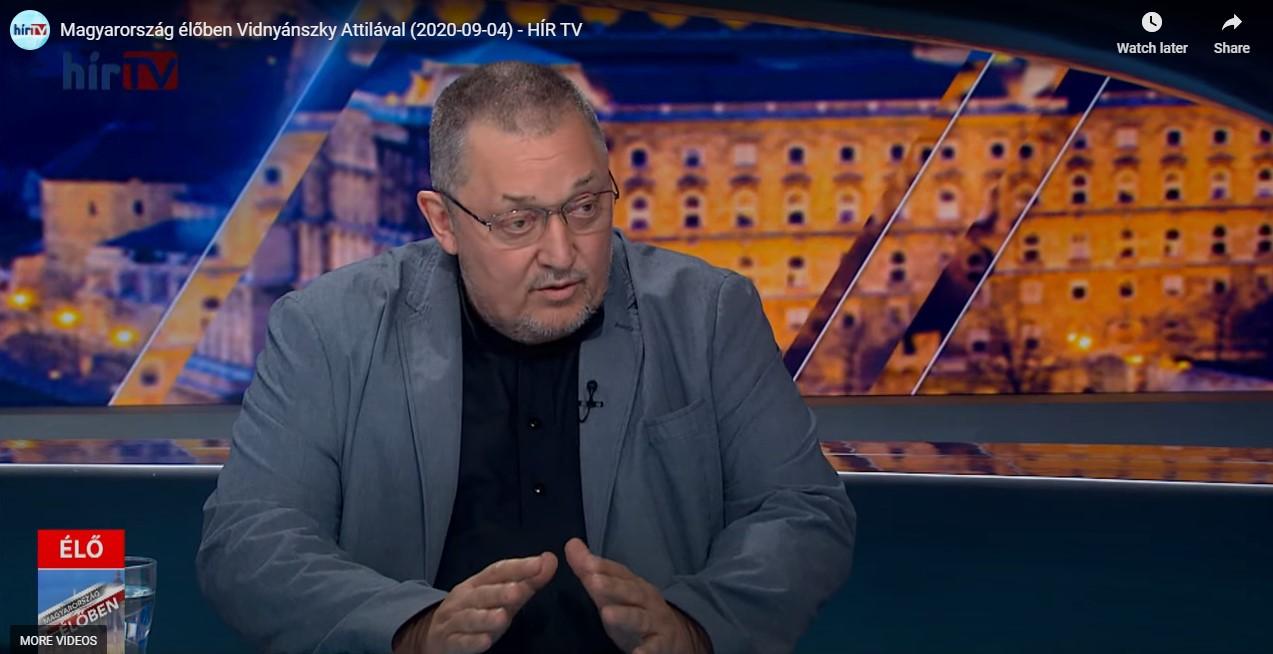 Vidnyánszky: Az SZFE átalakítása ellen tiltakozók egy hadsereg, egy nemzetközi csapat
