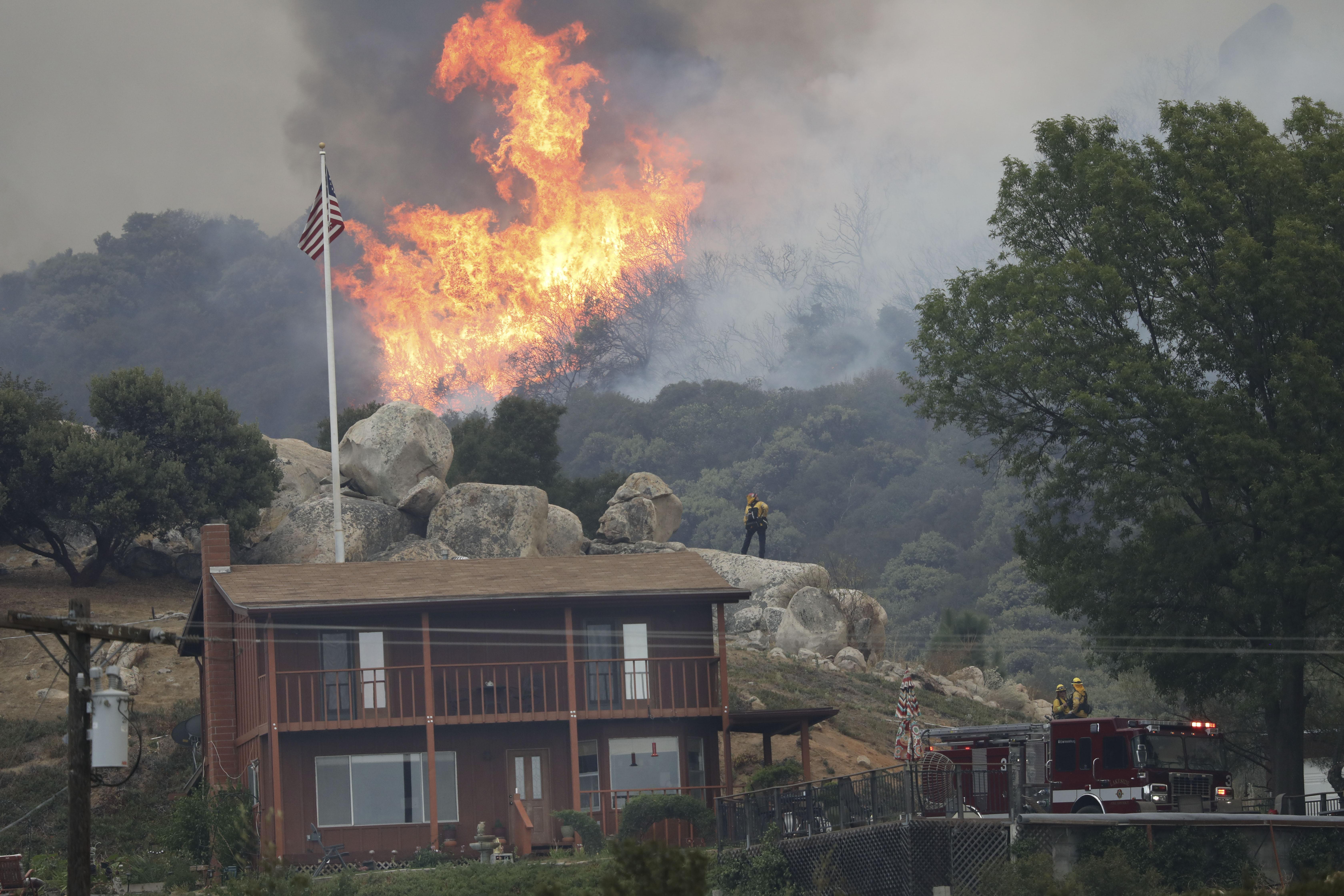 800 ezer hektárt perzselt már fel a tűz idén Kaliforniában, és csak most jönnek a kemény hónapok