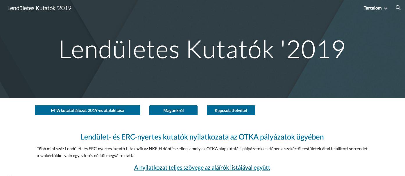 Több mint 100 Lendület- és ERC-nyertes élvonalbeli magyar kutató az aláírásával tiltakozik Palkovics durva beavatkozása ellen