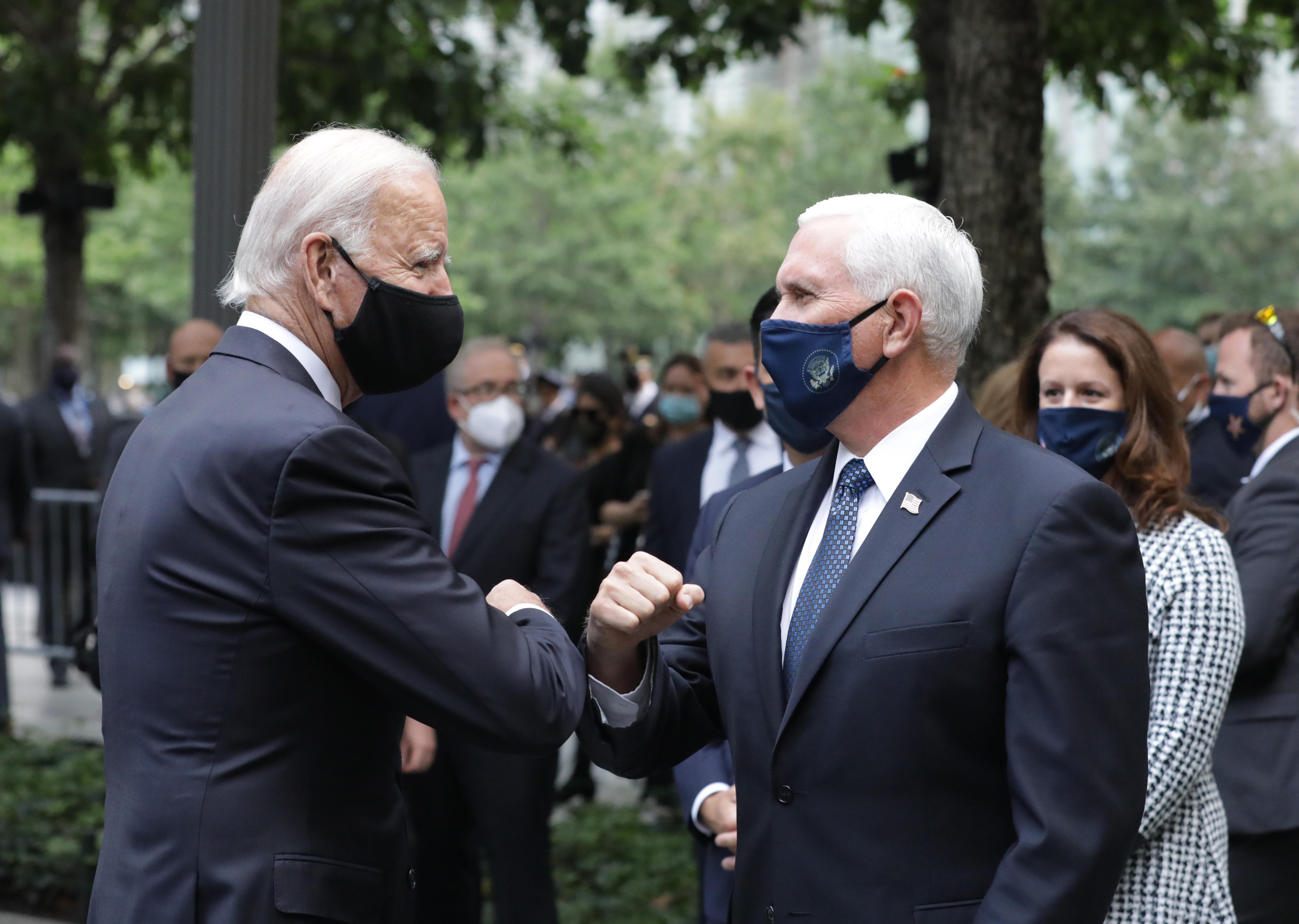 Mike Pence elmegy Joe Biden beiktatására