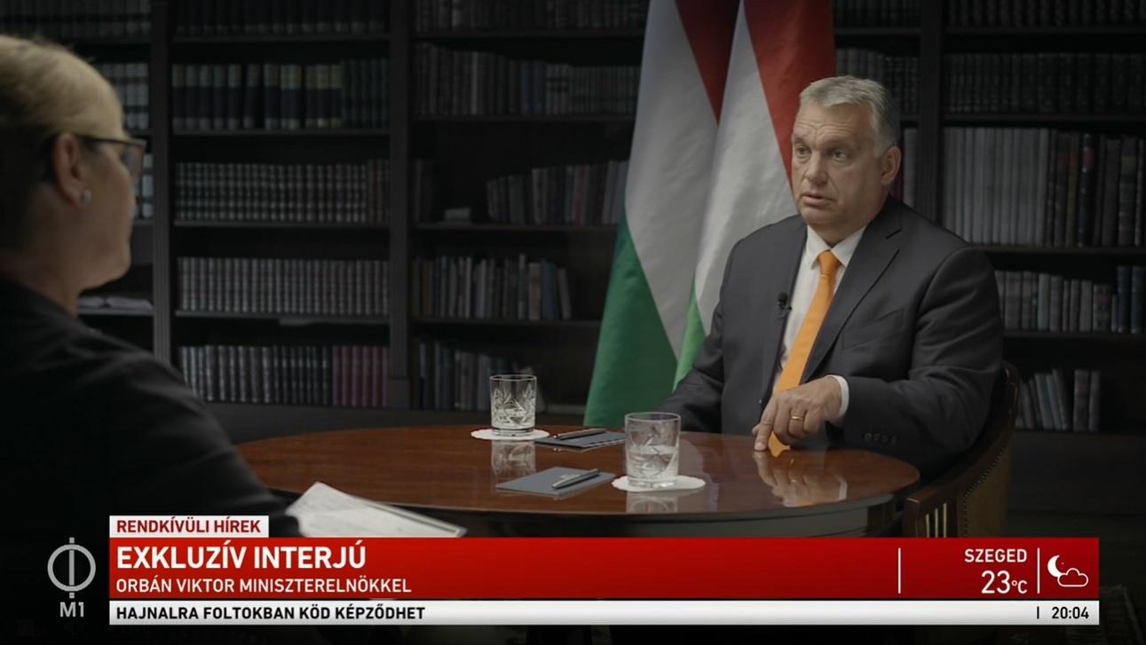 Orbán: Nem akarjuk az állam izmait mutogatni, csak belátást kérünk