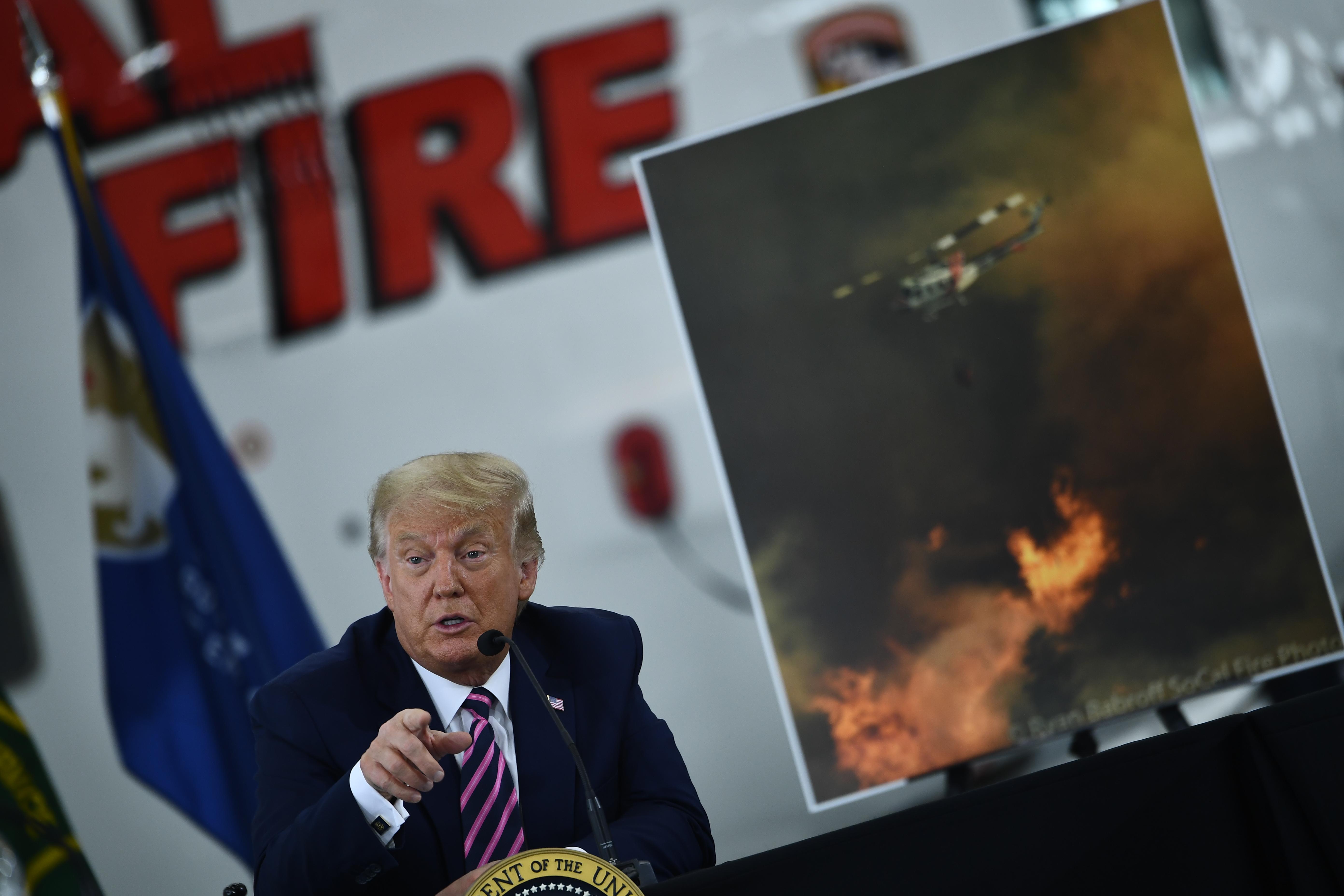 Trump szerint hamarosan hűvösebb lesz a bolygón