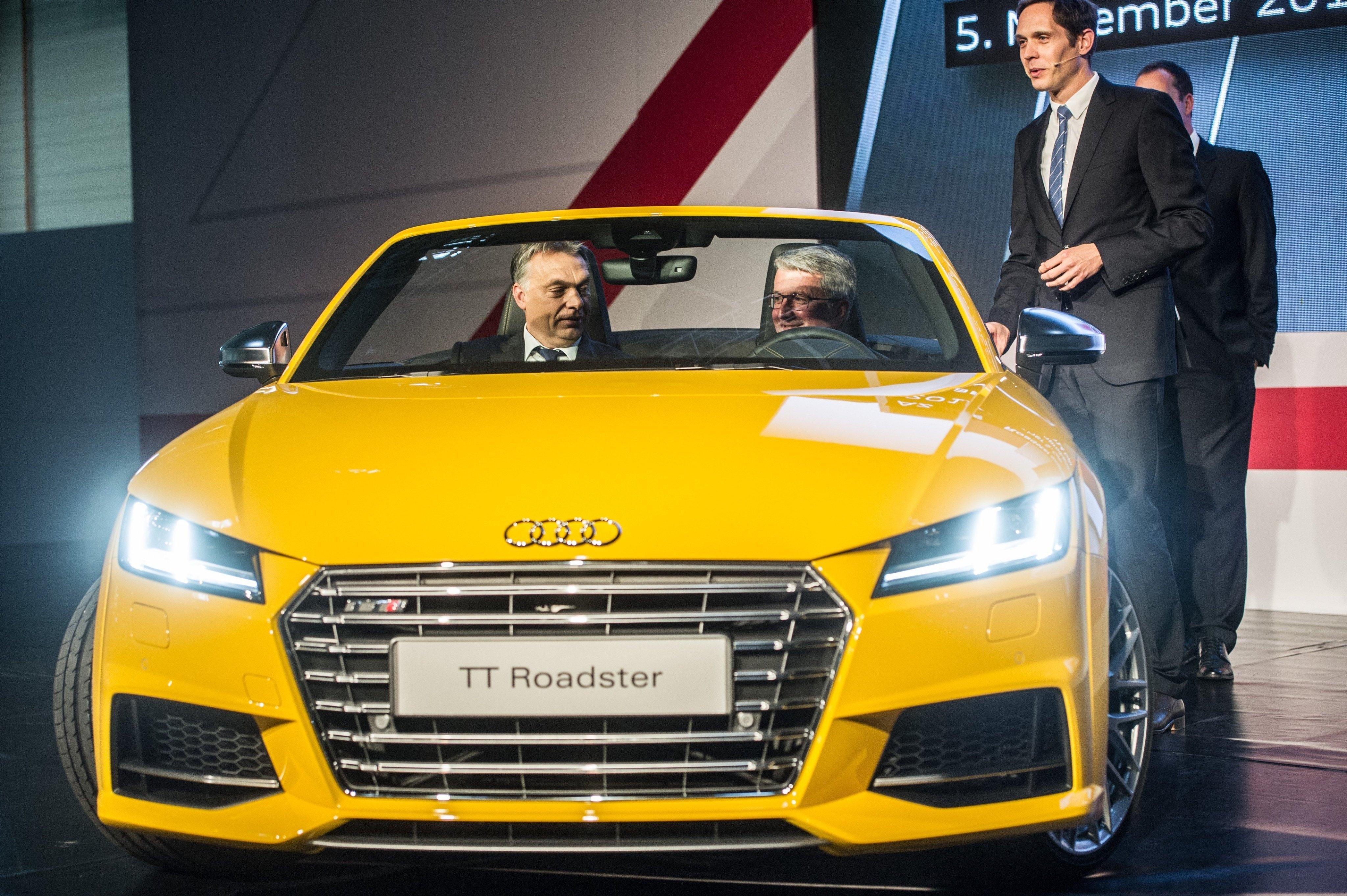 A Mercedes után az Audi is kénytelen csökkenteni a magyarországi termelését