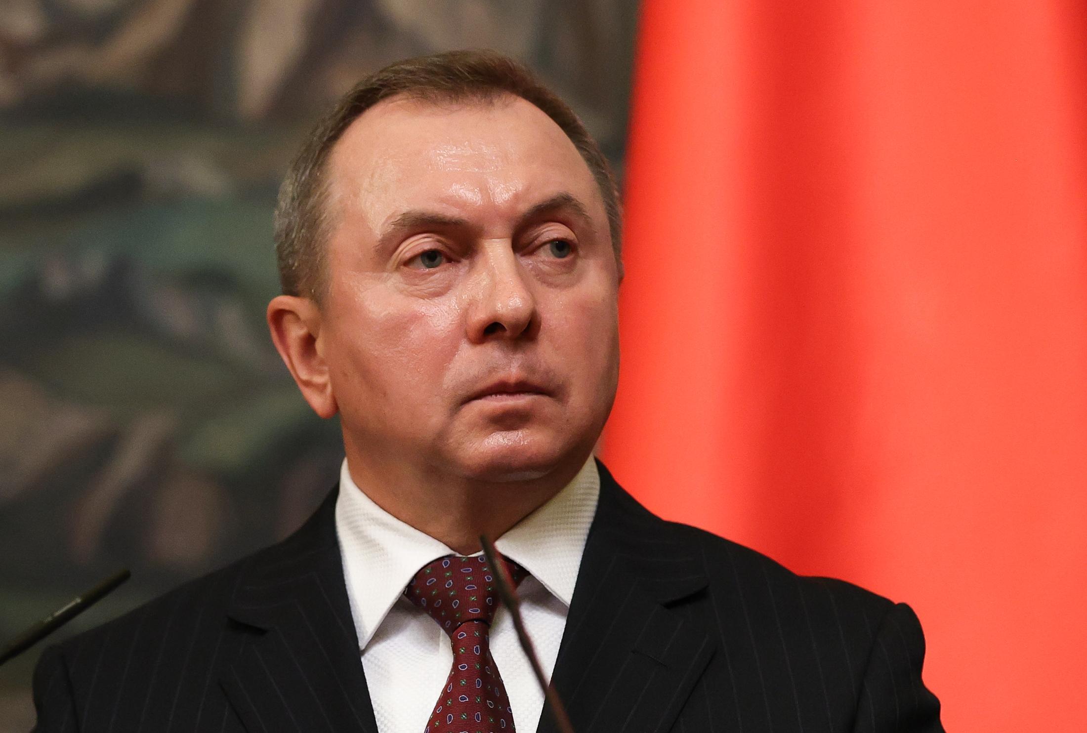 A belarusz külügyminiszter szankciókkal fenyegeti az EU vezetőit