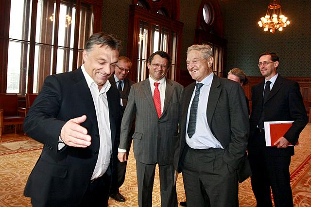 Orbán újraírja a múltat: már úgy emlékszik, hogy 2010-ben is Soros ellen harcolt
