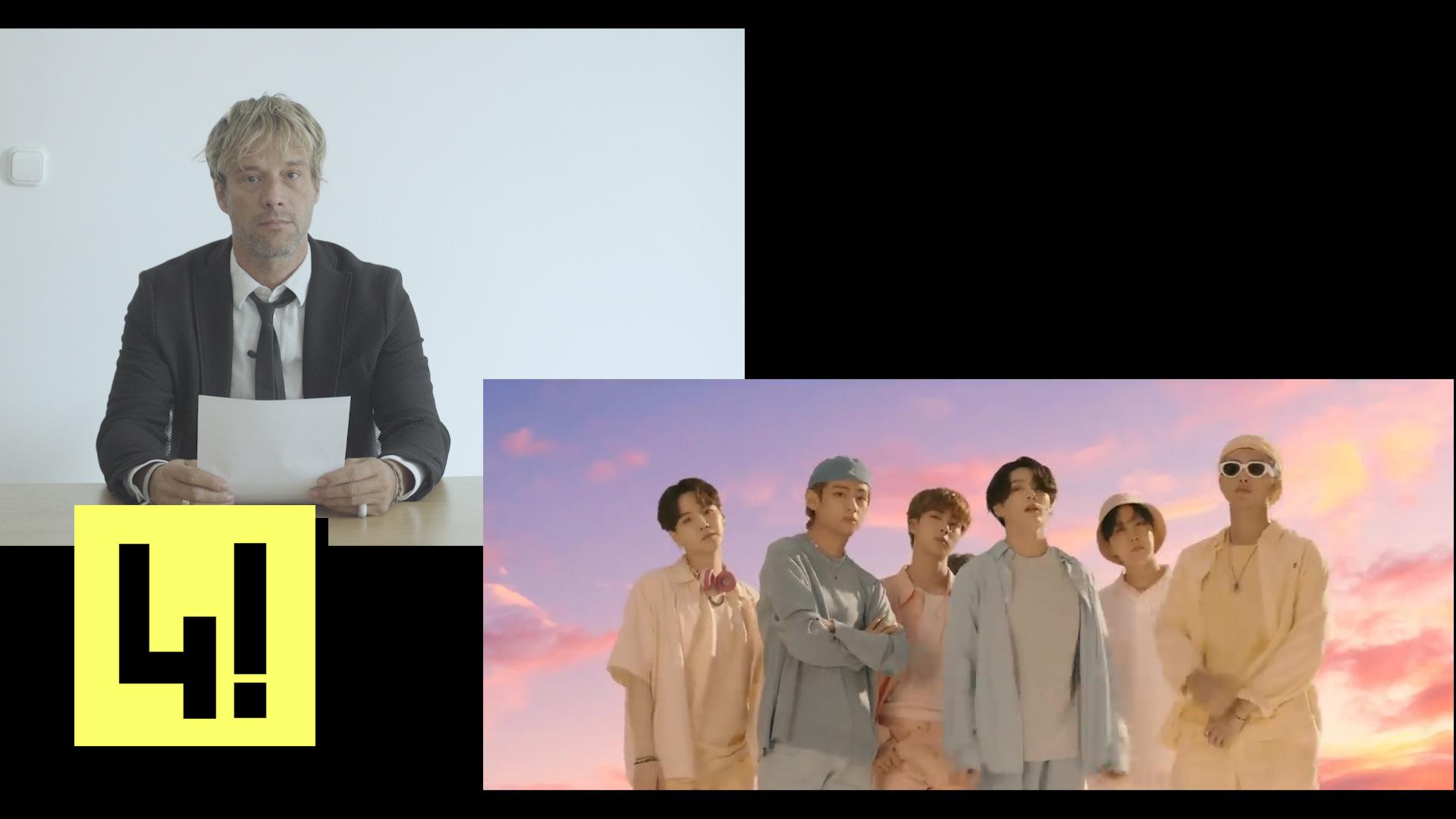 Videón kért bocsánatot a 444 munkatársa a BTS együttes tagjaitól és rajongóitól
