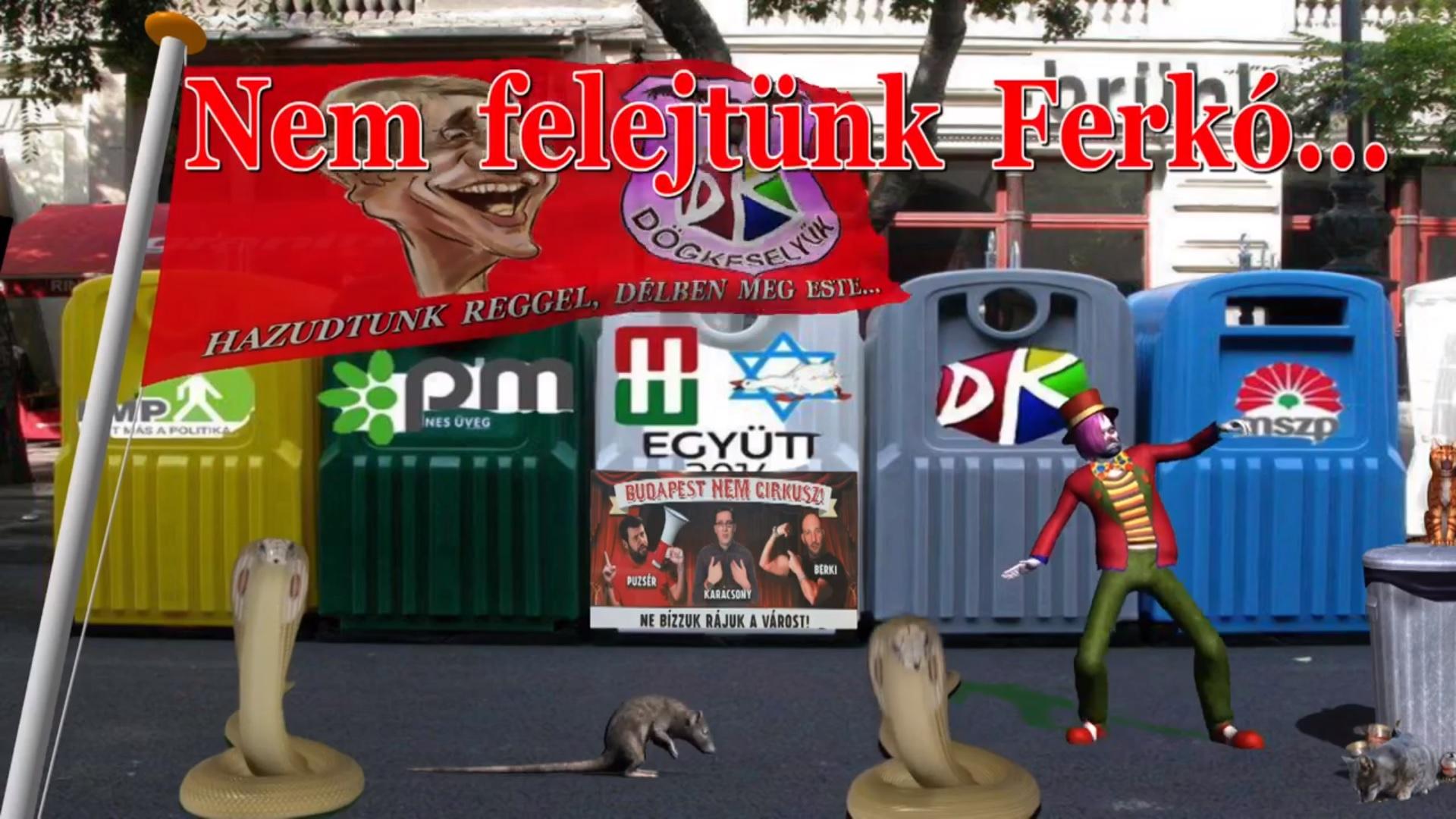 A régi internet vidám világát idézi egy fideszes aktivista a csodálatos kis animációs videóival