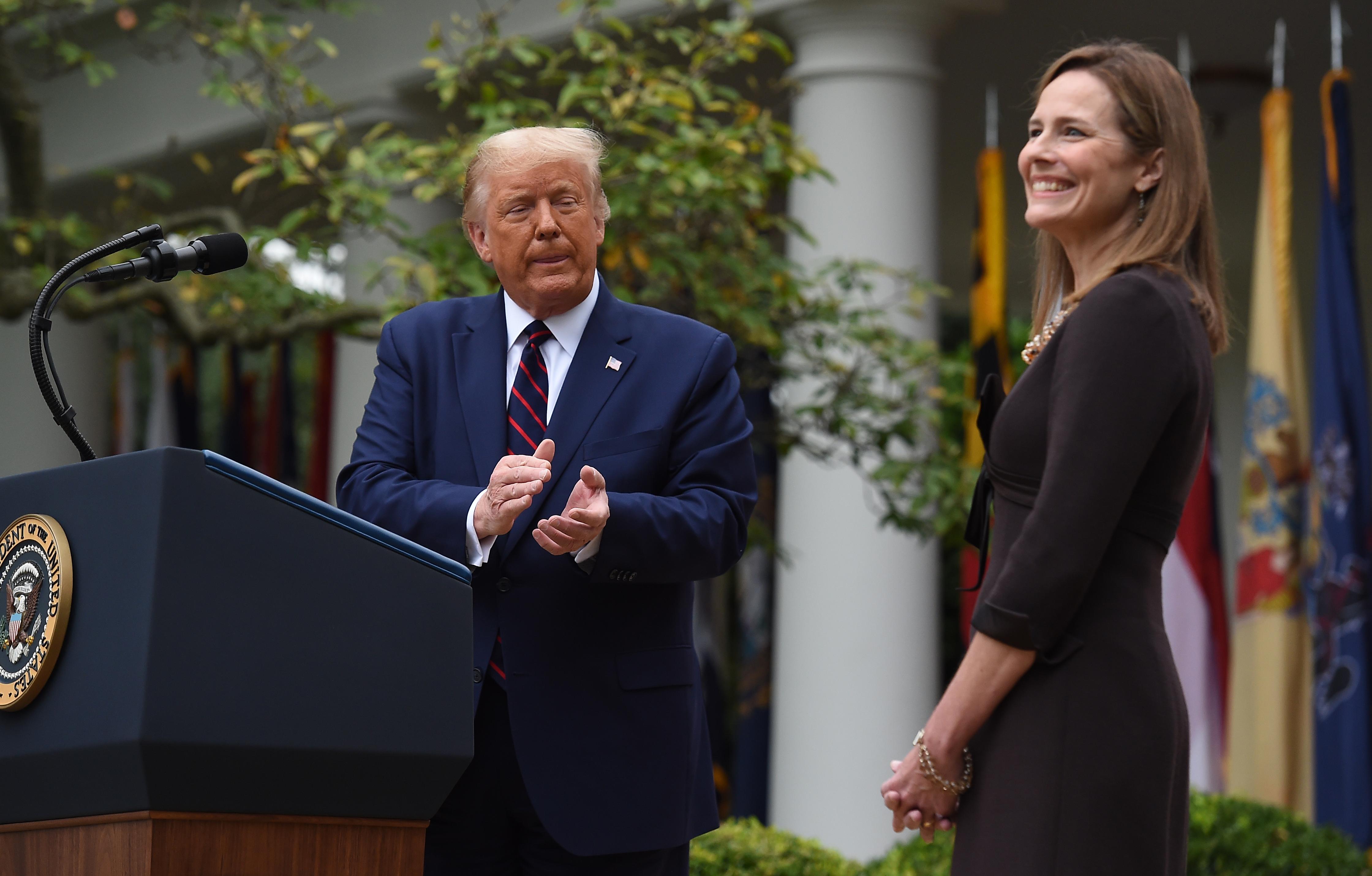 Donald Trump bemutatta az új főbírójelöltjét