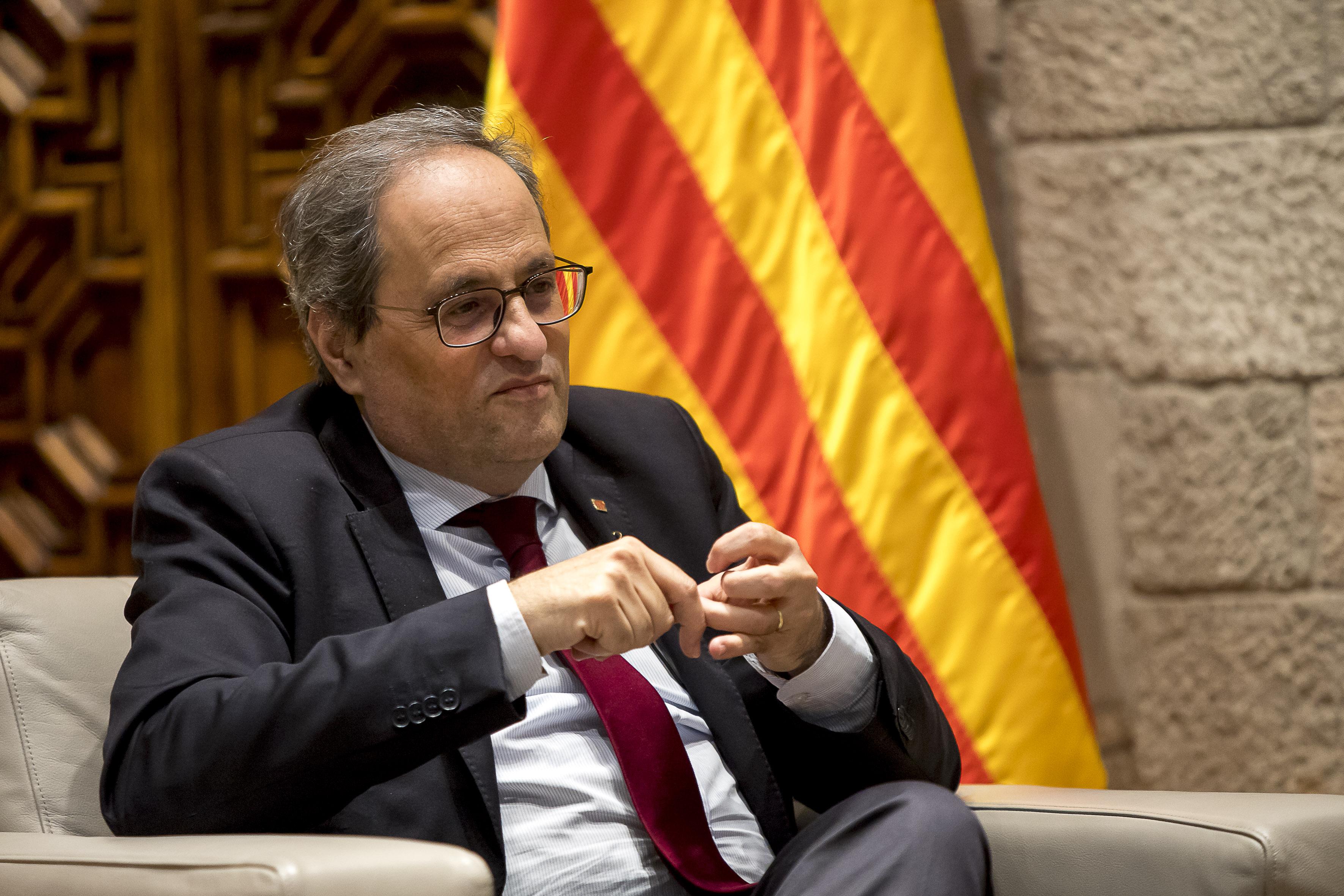 A spanyol legfelsőbb bíróság eltiltotta a katalán elnököt attól, hogy katalán elnök legyen