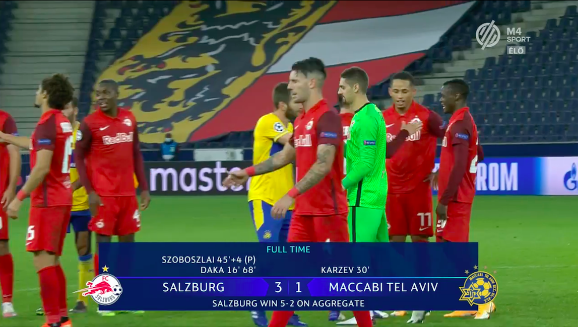 Szoboszlai is bejutott a Salzburggal a Bajnokok Ligájába