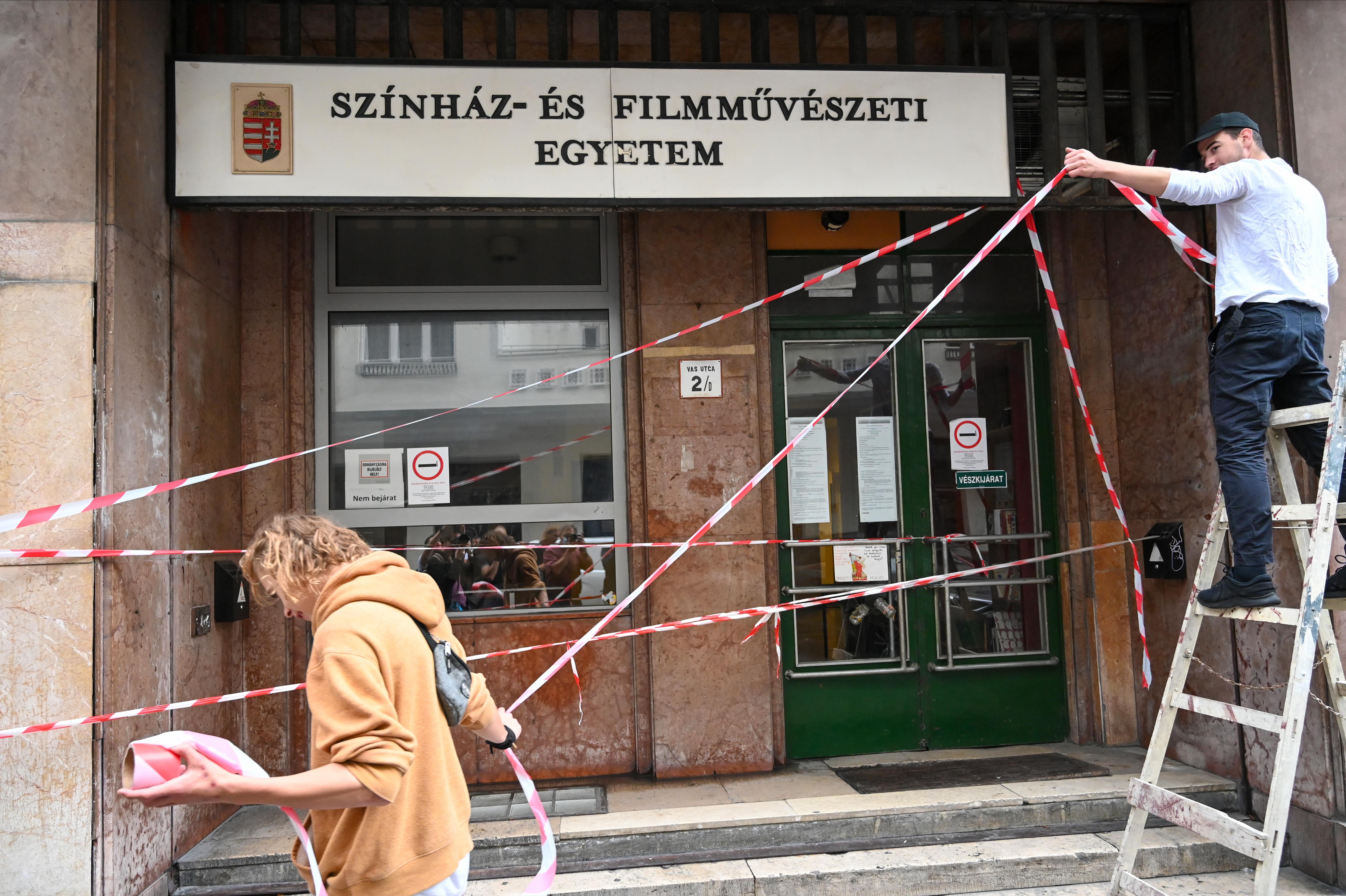 ORFK: Az SZFE elfoglalása nem veszélyes a közrendre